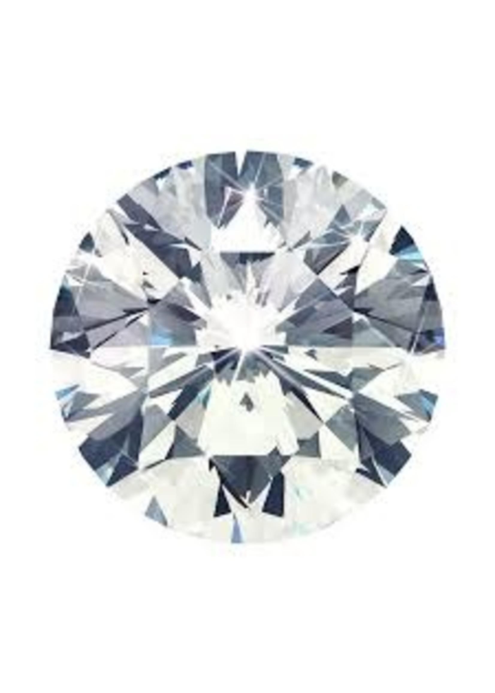 1.02CT ROUND BRILLIANT CUT DIAMOND (SI-2/D/VERY GOOD)