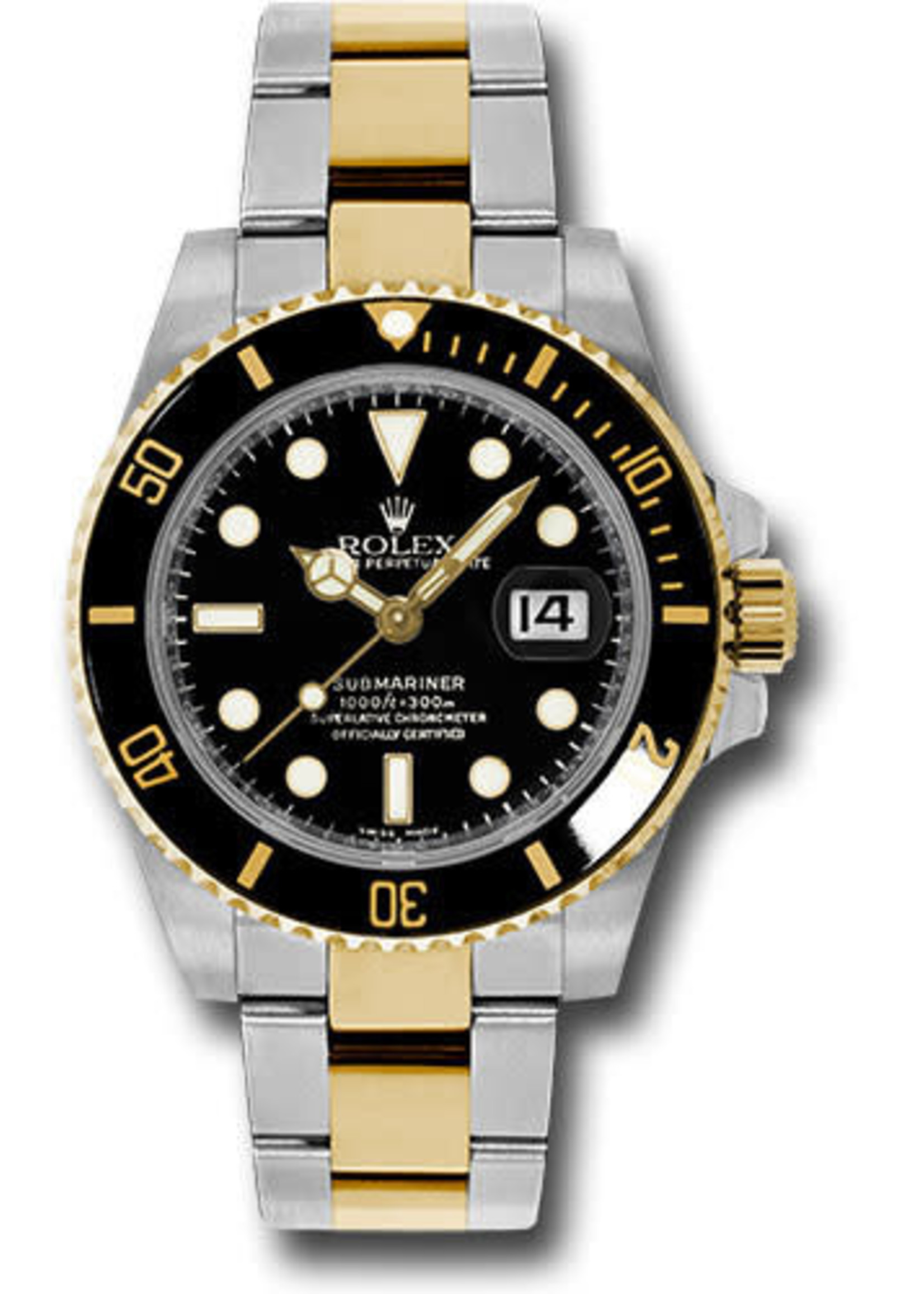 Rolex ROLEX SUBMARINER 40MM (2016 B+P) #116613LN