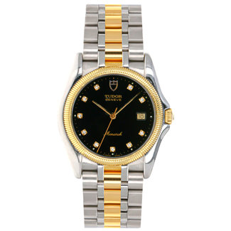 Tudor TUDOR MONARCH GENEVE TWO TONE WATCH #15633