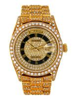 Rolex ROLEX DAY DATE 36MM (CUSTOM DIAMONDS)
