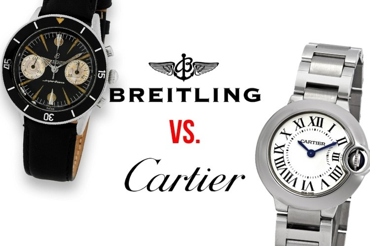 Cartier VS Breitling: Which is Better?