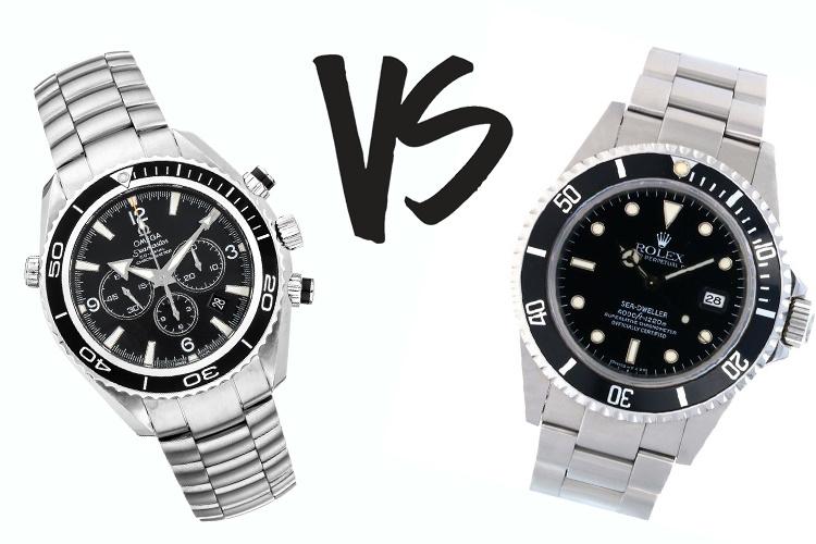 Omega VS Rolex
