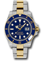 Rolex ROLEX SUBMARINER 40MM (2013 B+P) #116613LB