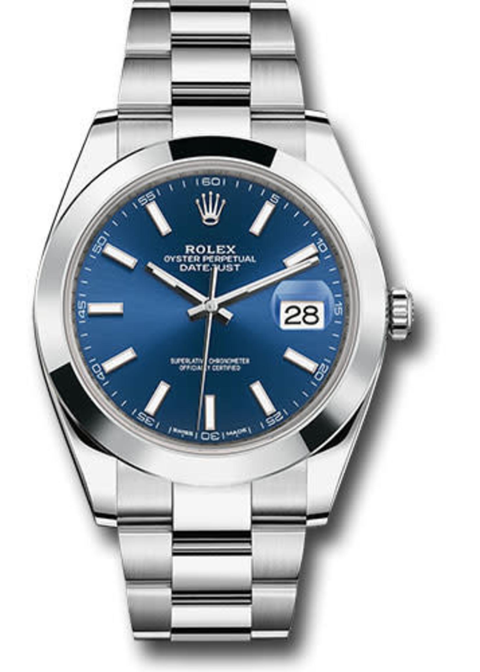 Rolex Rolex Datejust 41MM #126300 (2021 B+P)