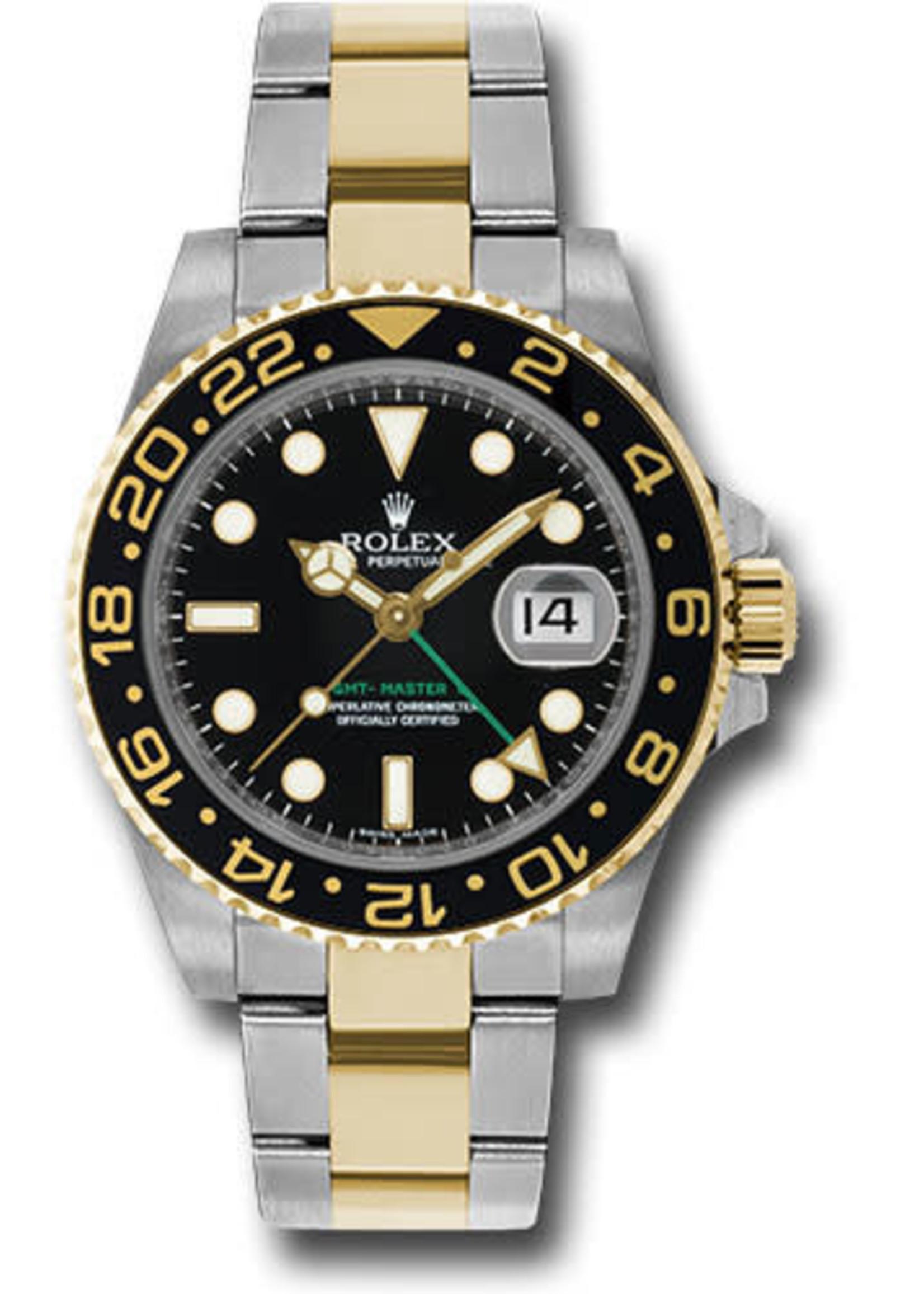 Rolex ROLEX GMT-MASTER II 40MM (2017 B+P) #116713LN