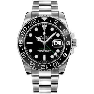 Rolex ROLEX GMT MASTER II (2011 B+P) #116710LN