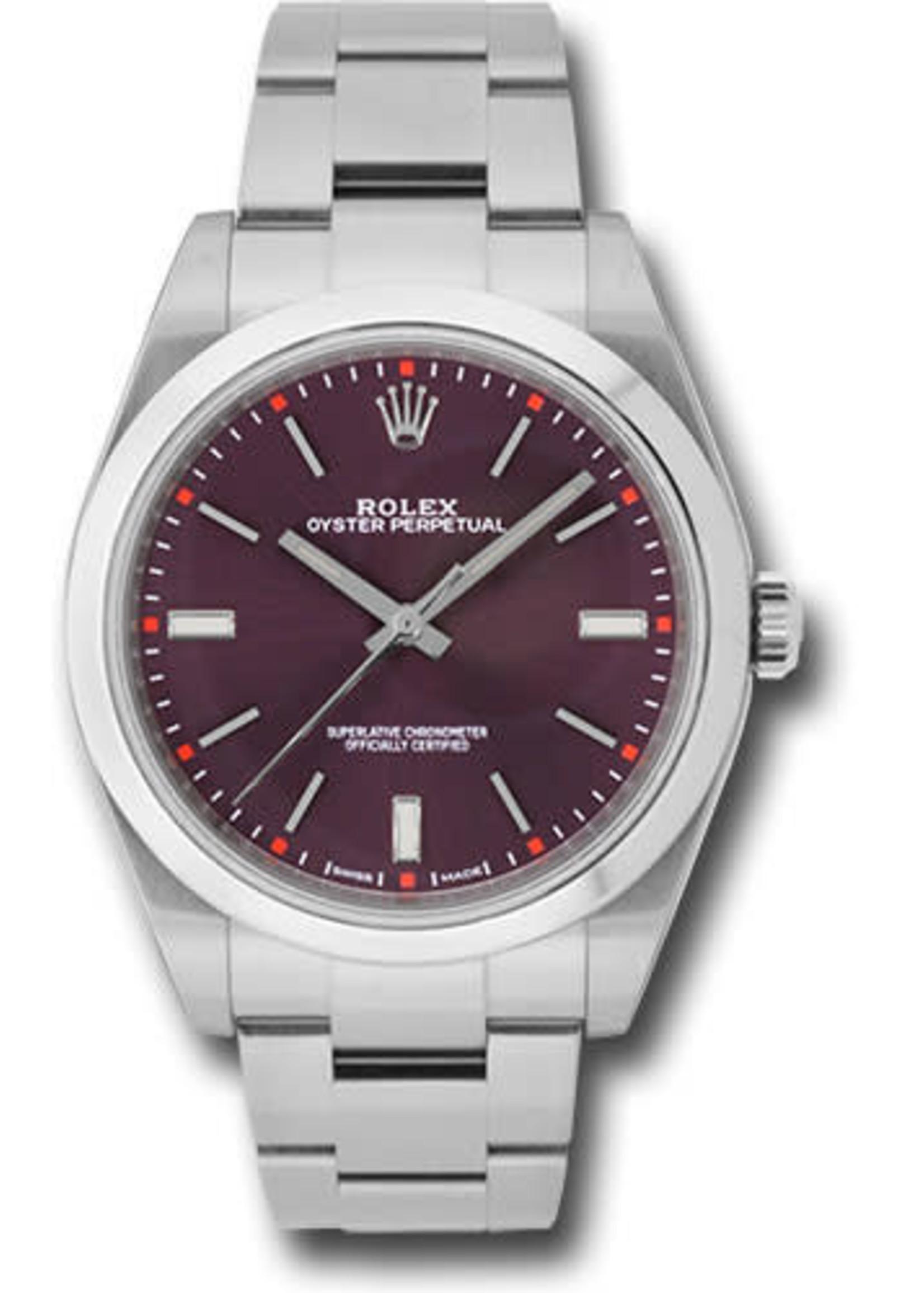 Rolex ROLEX OYSTER PERPETUAL 39MM (2017 B+P) #114300