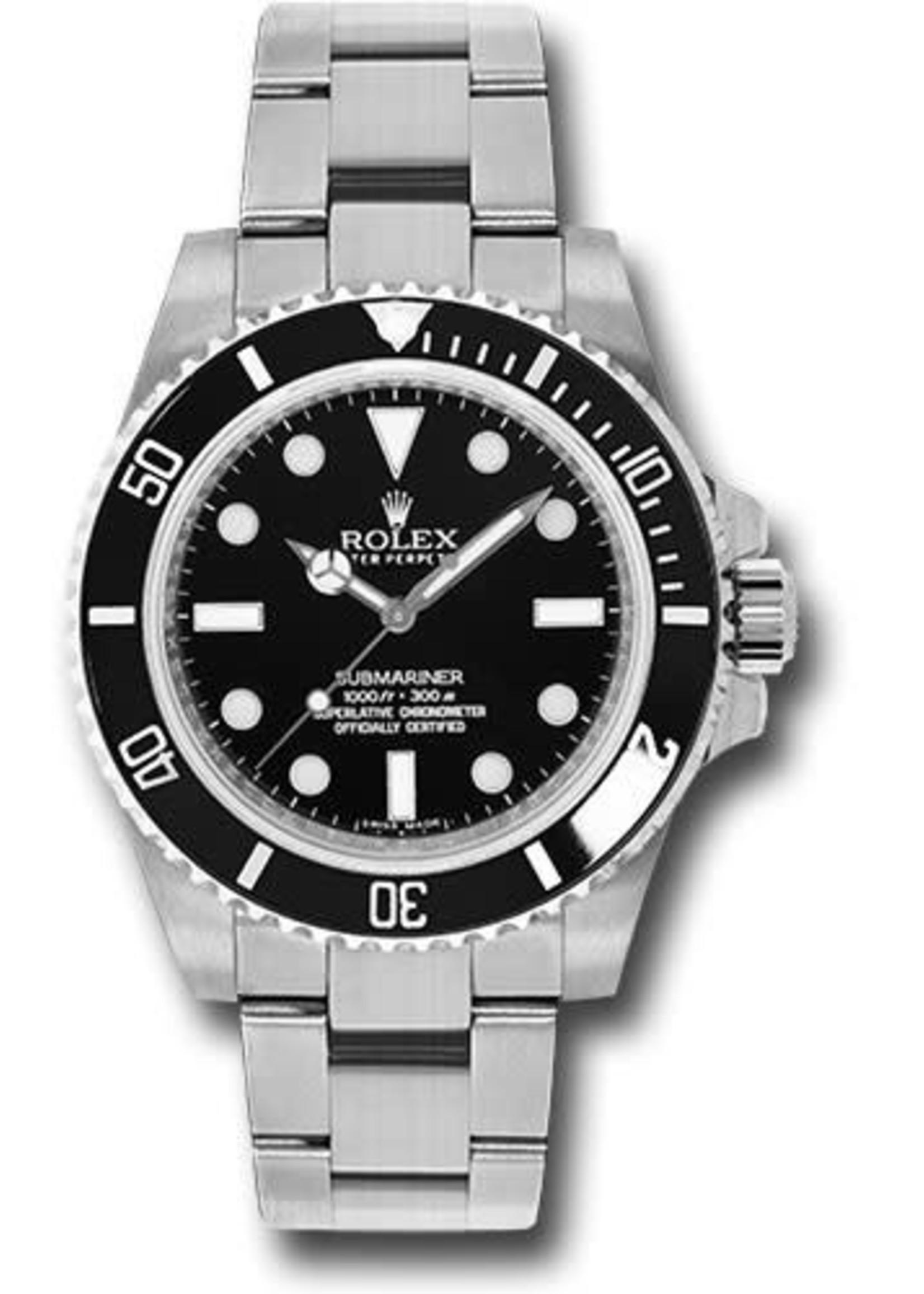 Rolex Rolex Submariner 40MM #114060 (2017 B+P)