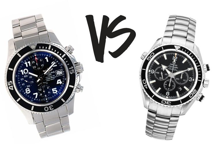 Breitling VS Omega