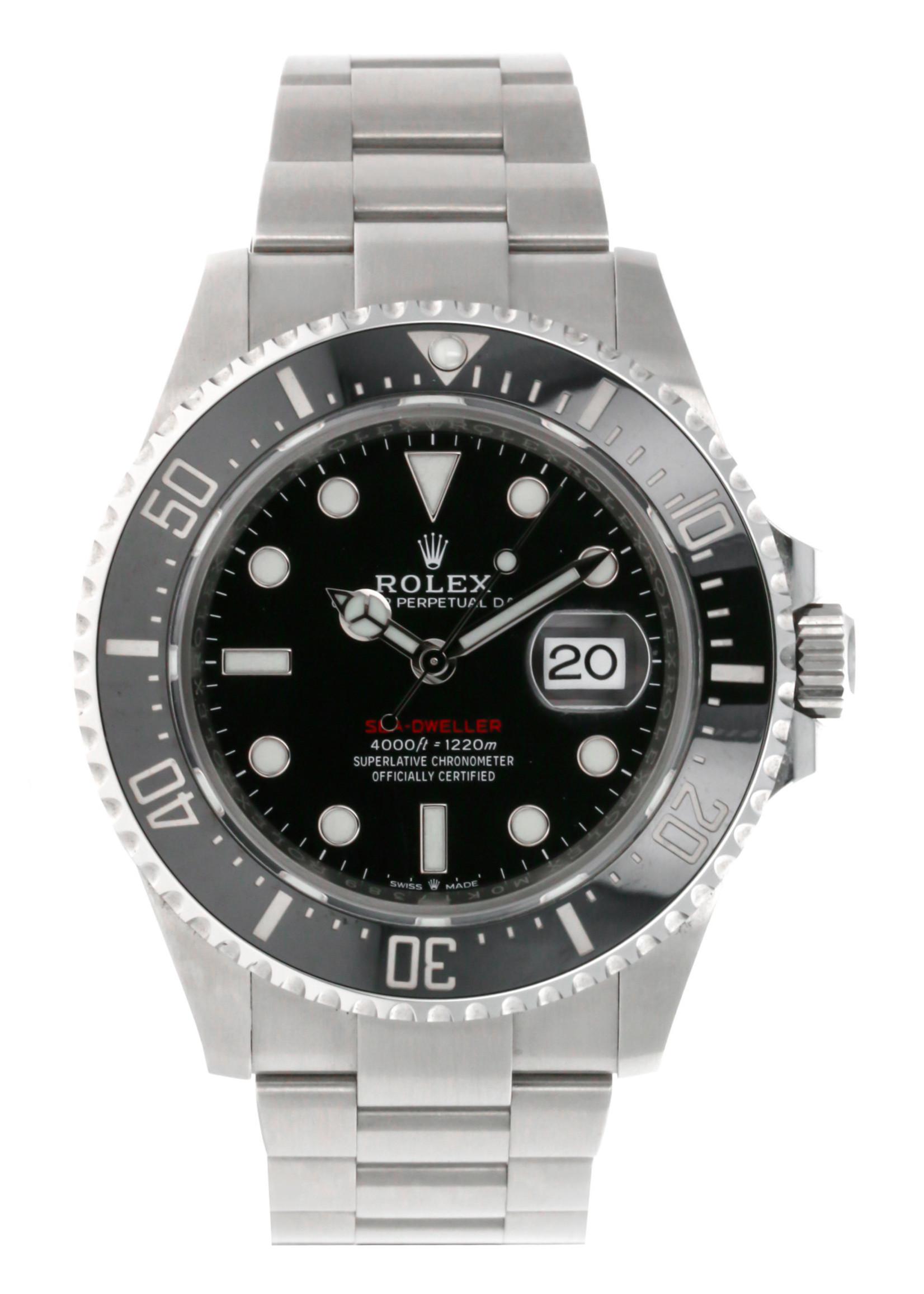 Rolex ROLEX SEADWELLER 43MM 2020(B+P) #126600 BLACK DIAL