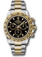 Rolex ROLEX DAYTONA BLACK 40MM 2014 (B+P) #116523