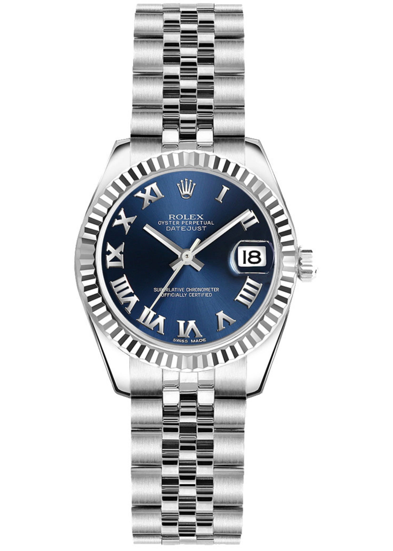 Rolex Watches ROLEX DATEJUST 26MM (2010 B+P) - NEVER WORN #179174