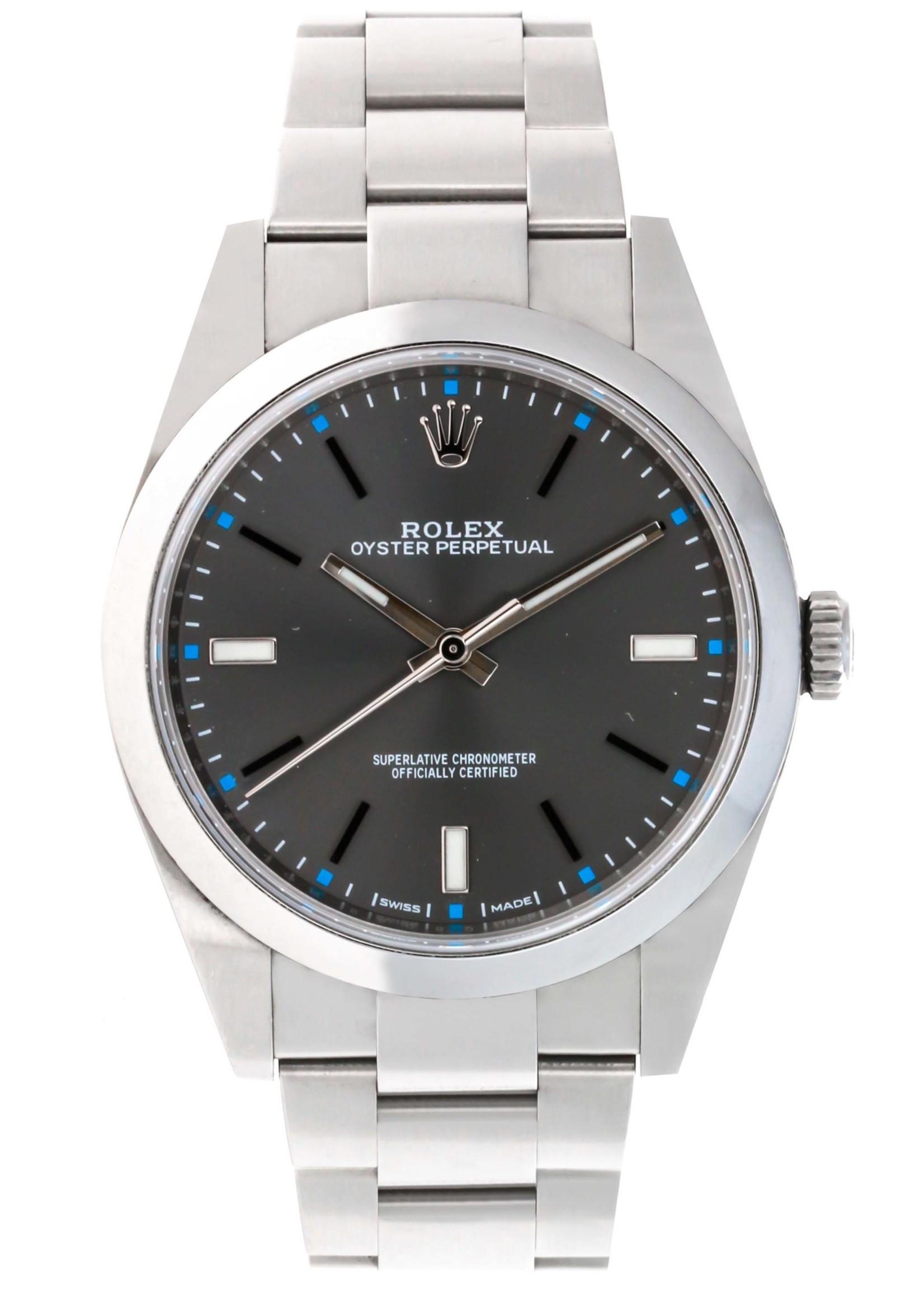Rolex Watches ROLEX OYSTER 39MM (2017 B+P) #114300