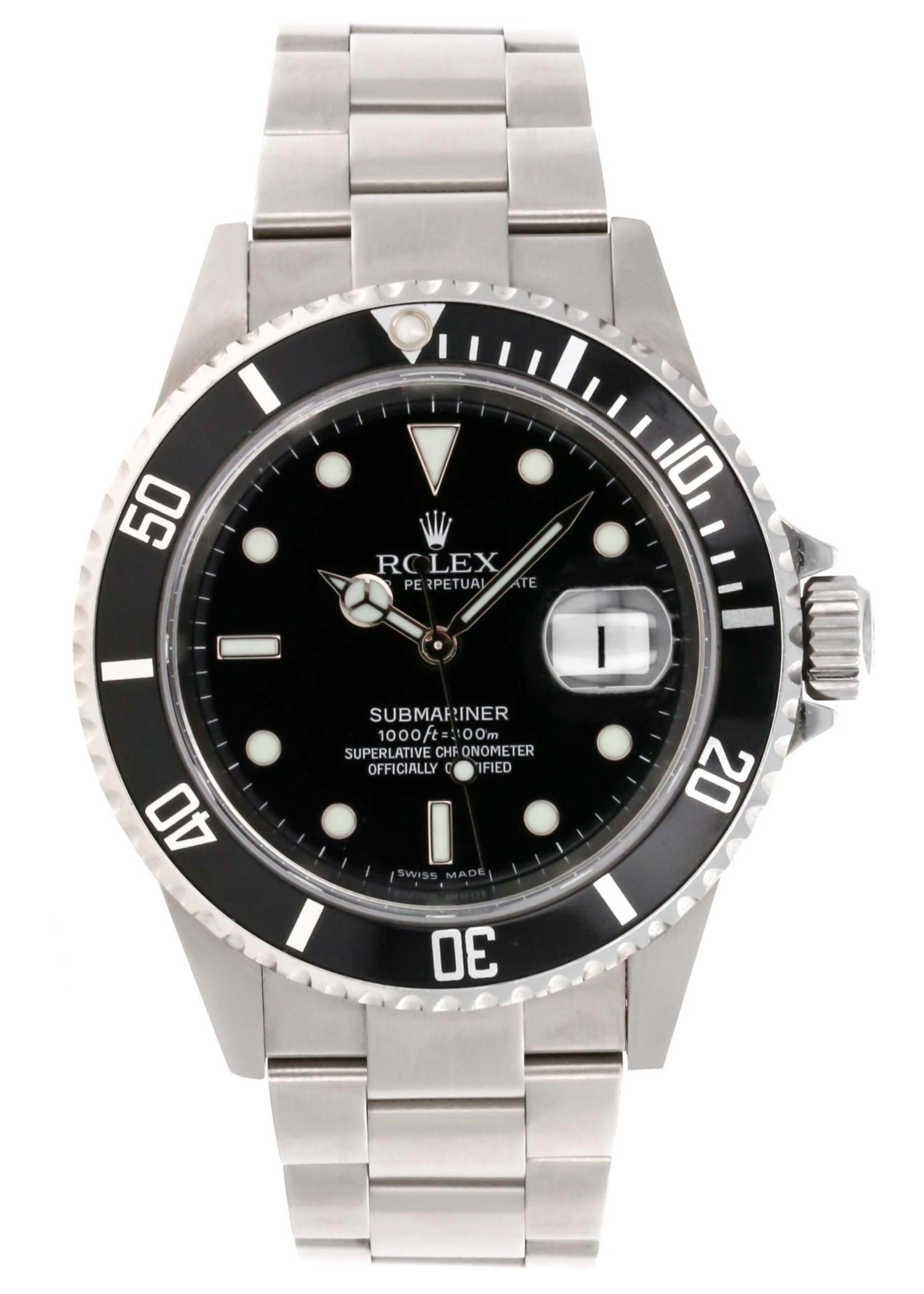 Rolex ROLEX SUBMARINER 40MM 2006 (B+P) #116610