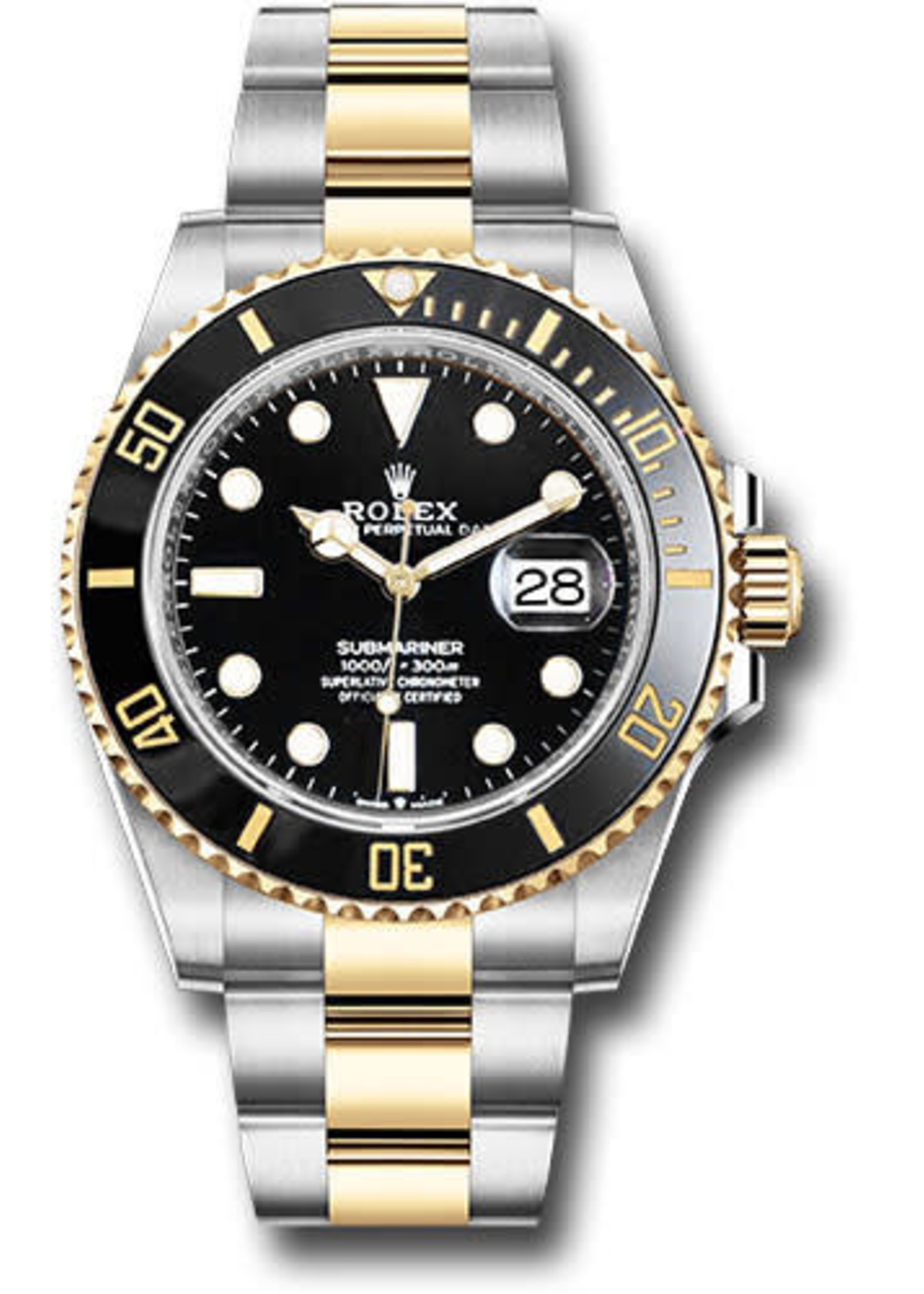 Rolex ROLEX SUBMARINER 2020 41MM (B+P) #126613LN
