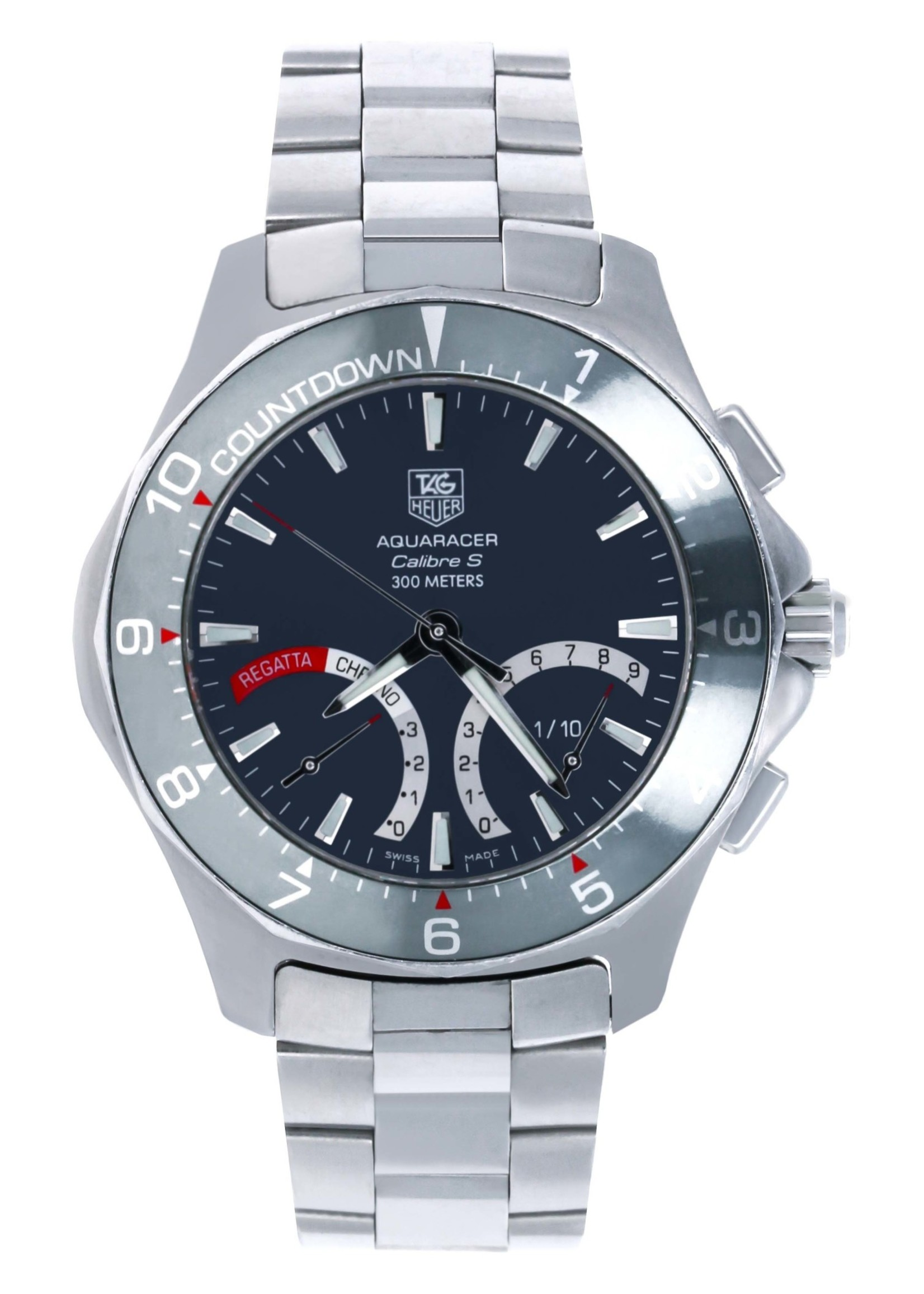Tag Heuer Watches TAG HEUER AQUARACER CALIBRE S 41MM #CAF7111