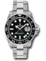 Rolex ROLEX  GMT MASTER II 40MM 2015 (B+P) #116710LN