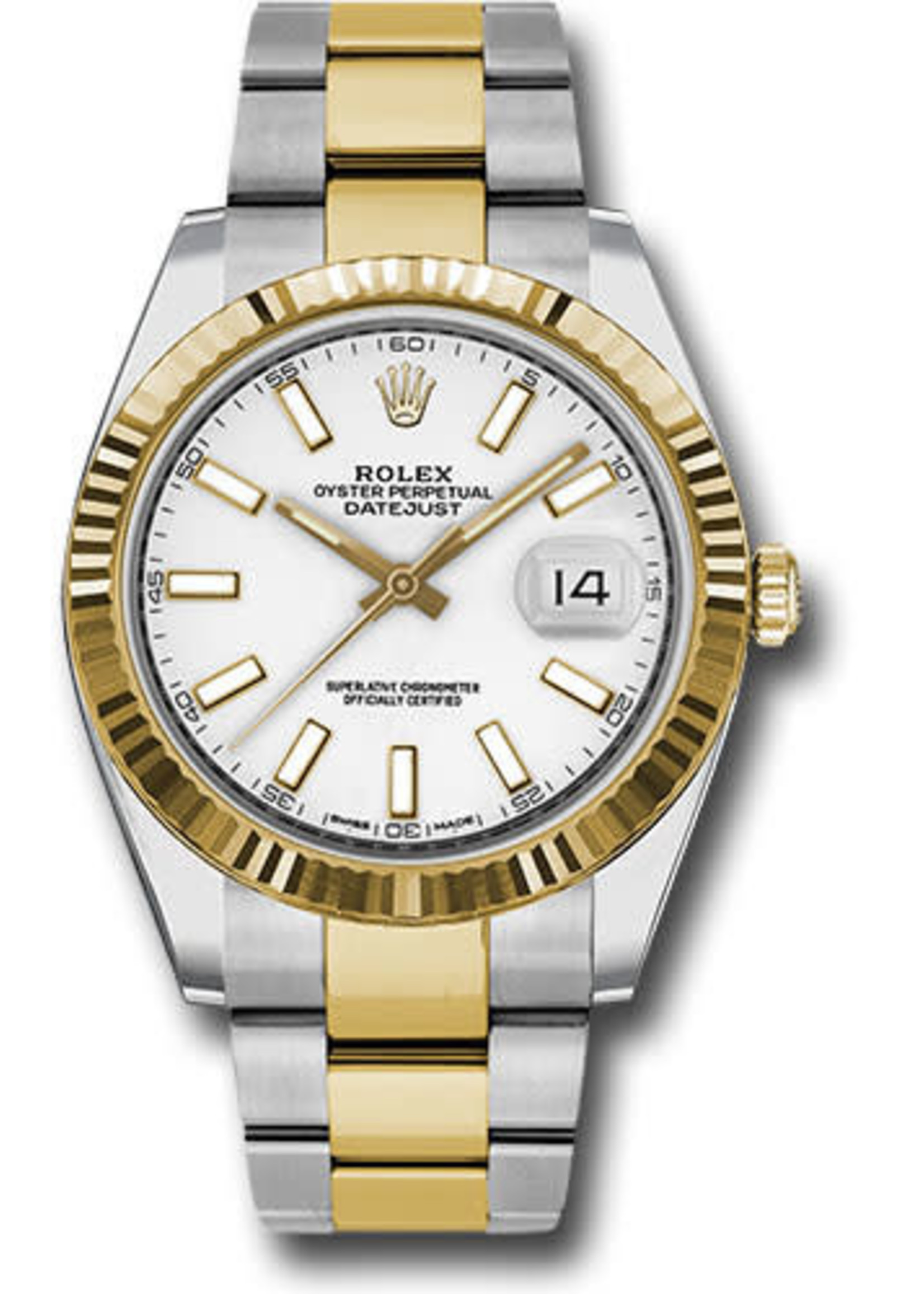 Rolex ROLEX DATEJUST II 41MM STEEL AND YELLOW GOLD#126333