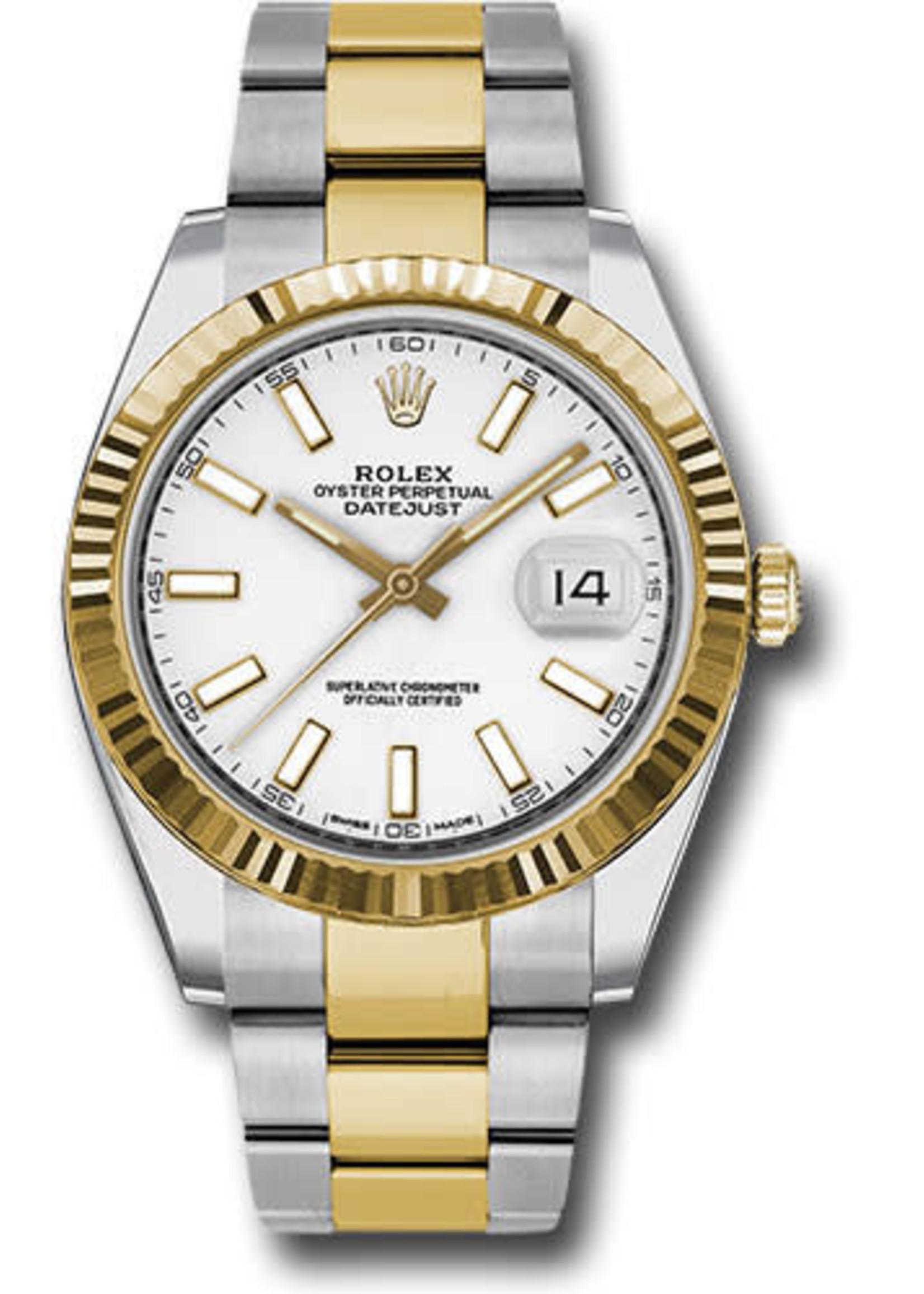 Rolex ROLEX DATEJUST II 41MM STEEL & YELLOW GOLD #126333