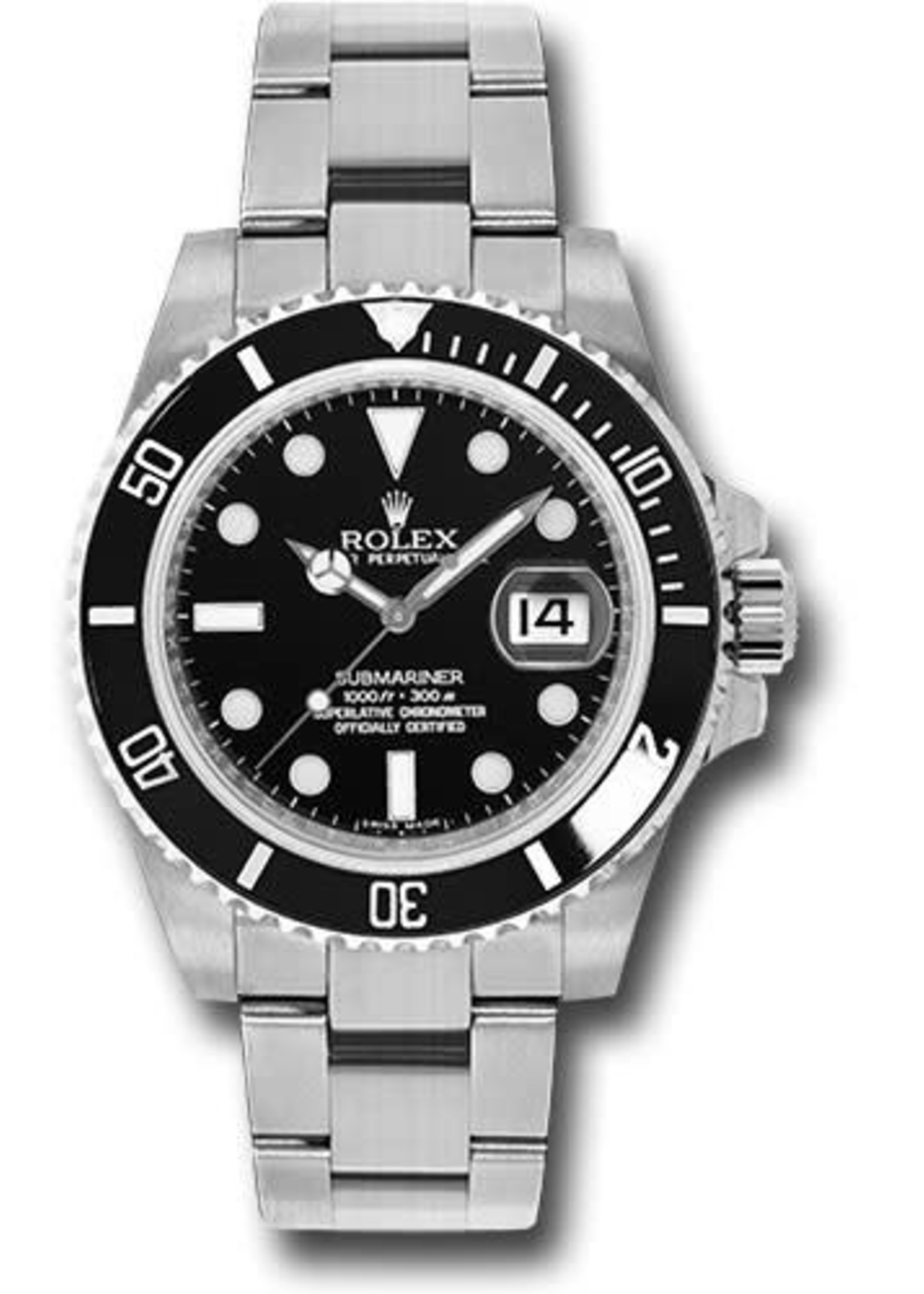Rolex ROLEX SUBMARINER 40MM 2012 (B+P) #116610LN