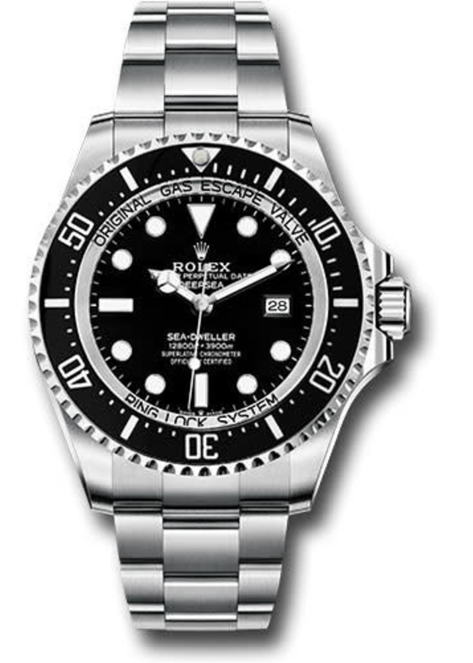 Rolex ROLEX DEEPSEA SEADWELLER 44MM (2015 B+P) #116660
