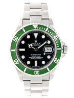 Rolex ROLEX SUBMARINER 40MM (2006 B+P) #16610LV