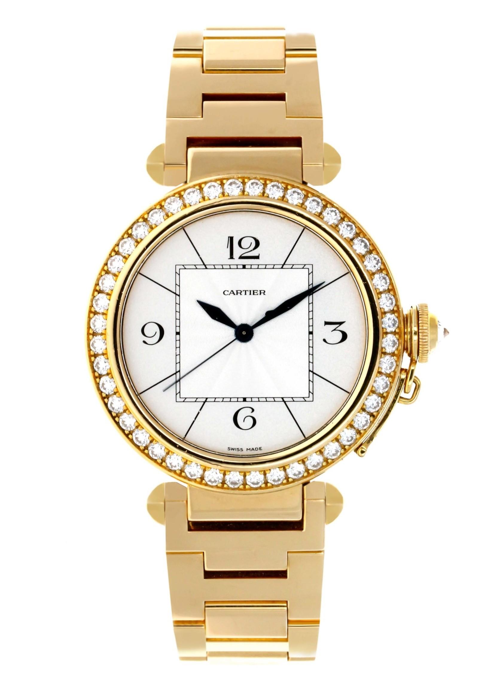 Cartier CARTIER PASHA 42MM 18K YELLOW GOLD AUTOMATIC #2726