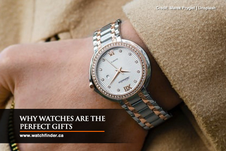 Why Watches Are the Perfect Gifts