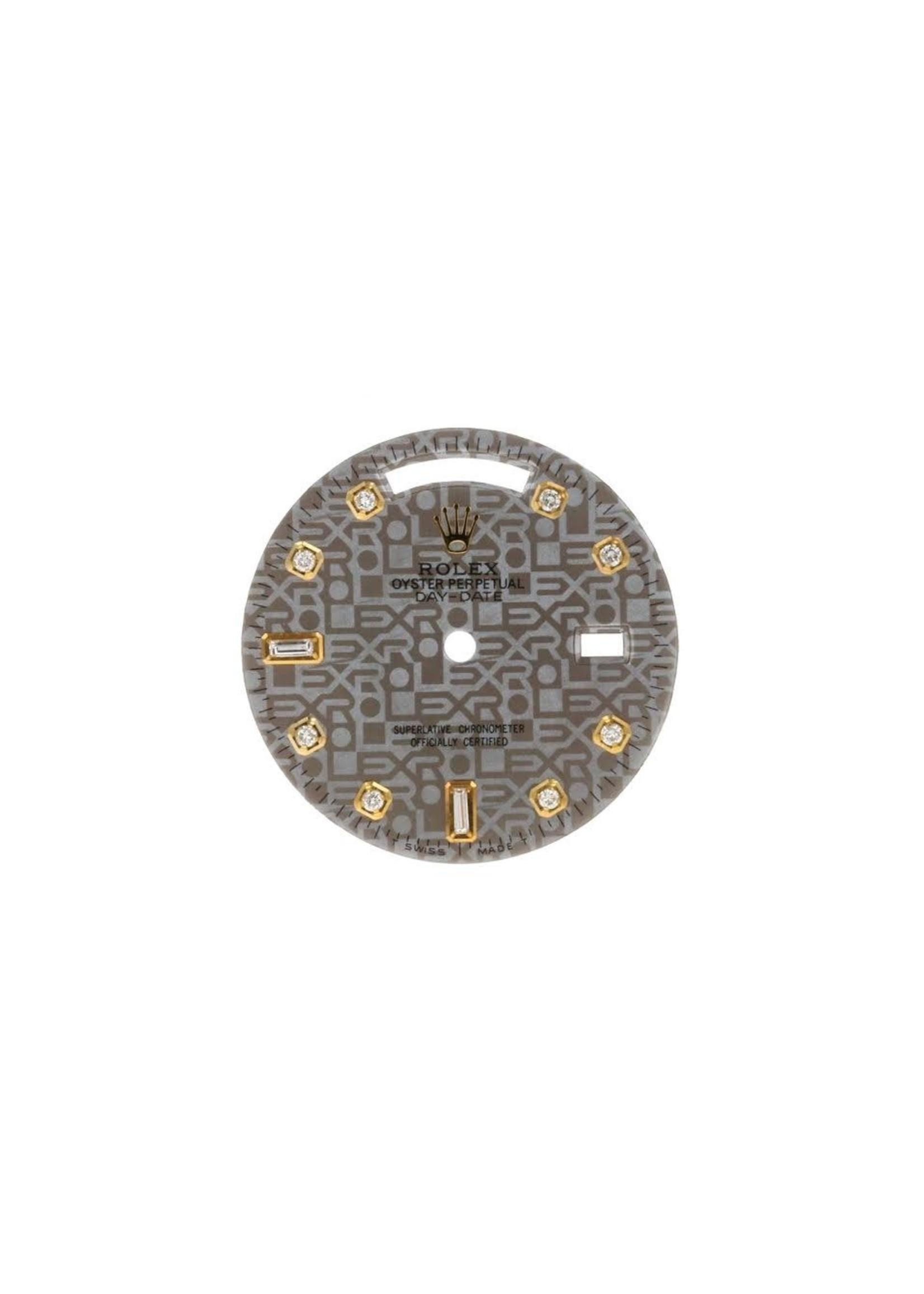Rolex CUSTOM ROLEX DAY DATE 36MM DIAMOND DIAL