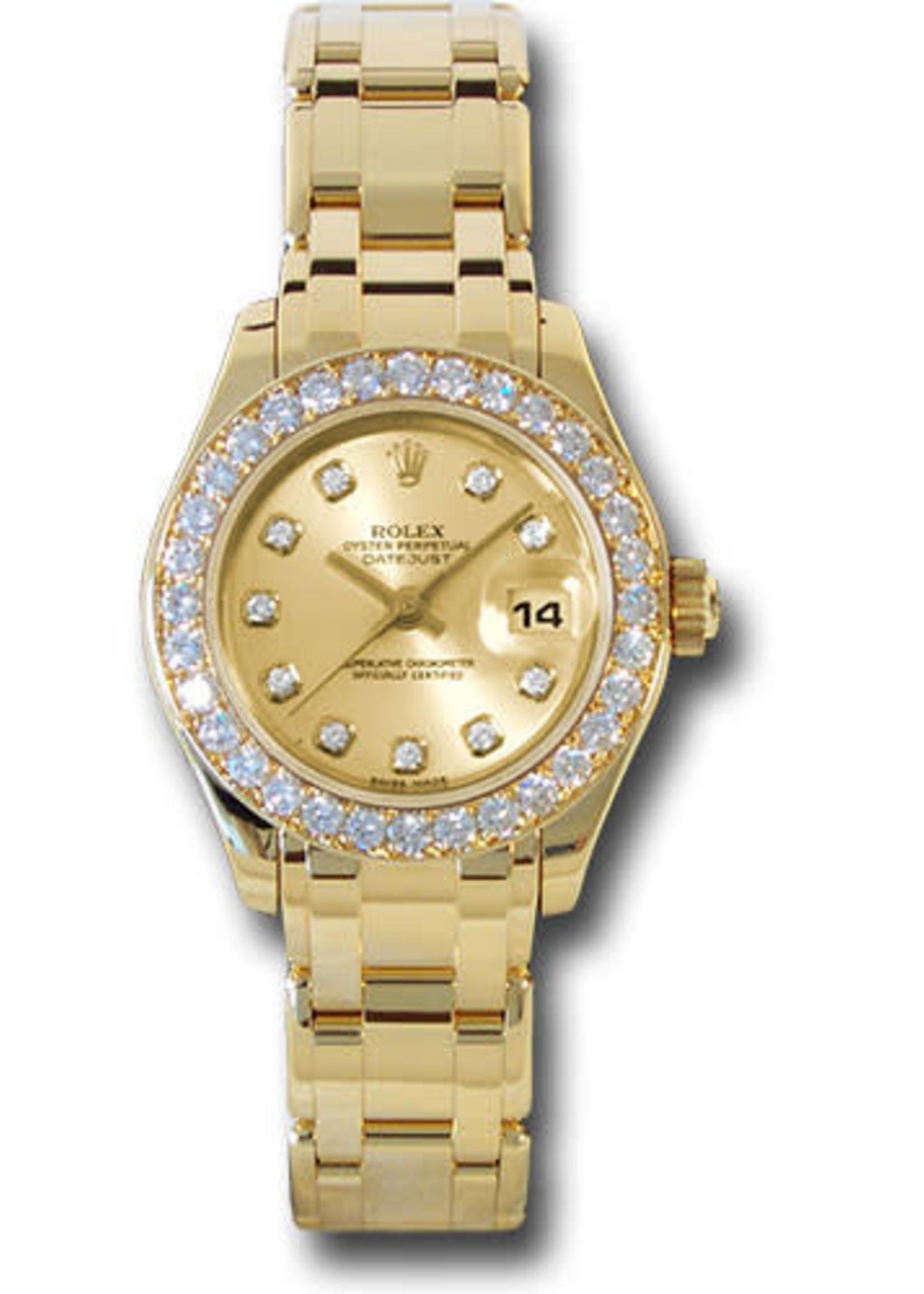Rolex ROLEX DATEJUST PEARLMASTER 29MM #80318 (2000)