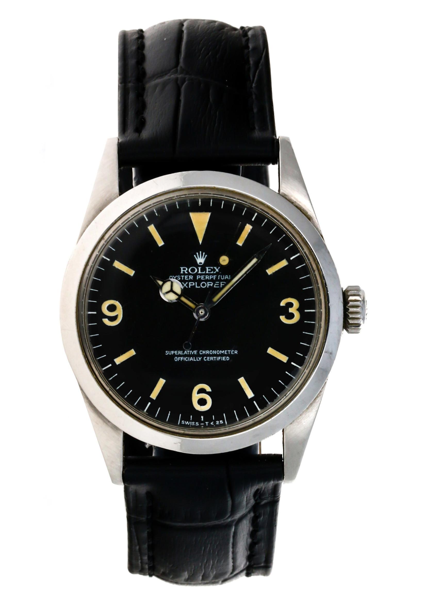Rolex Watches ROLEX EXPLORER (1972) SERVICE PAPERS #1016
