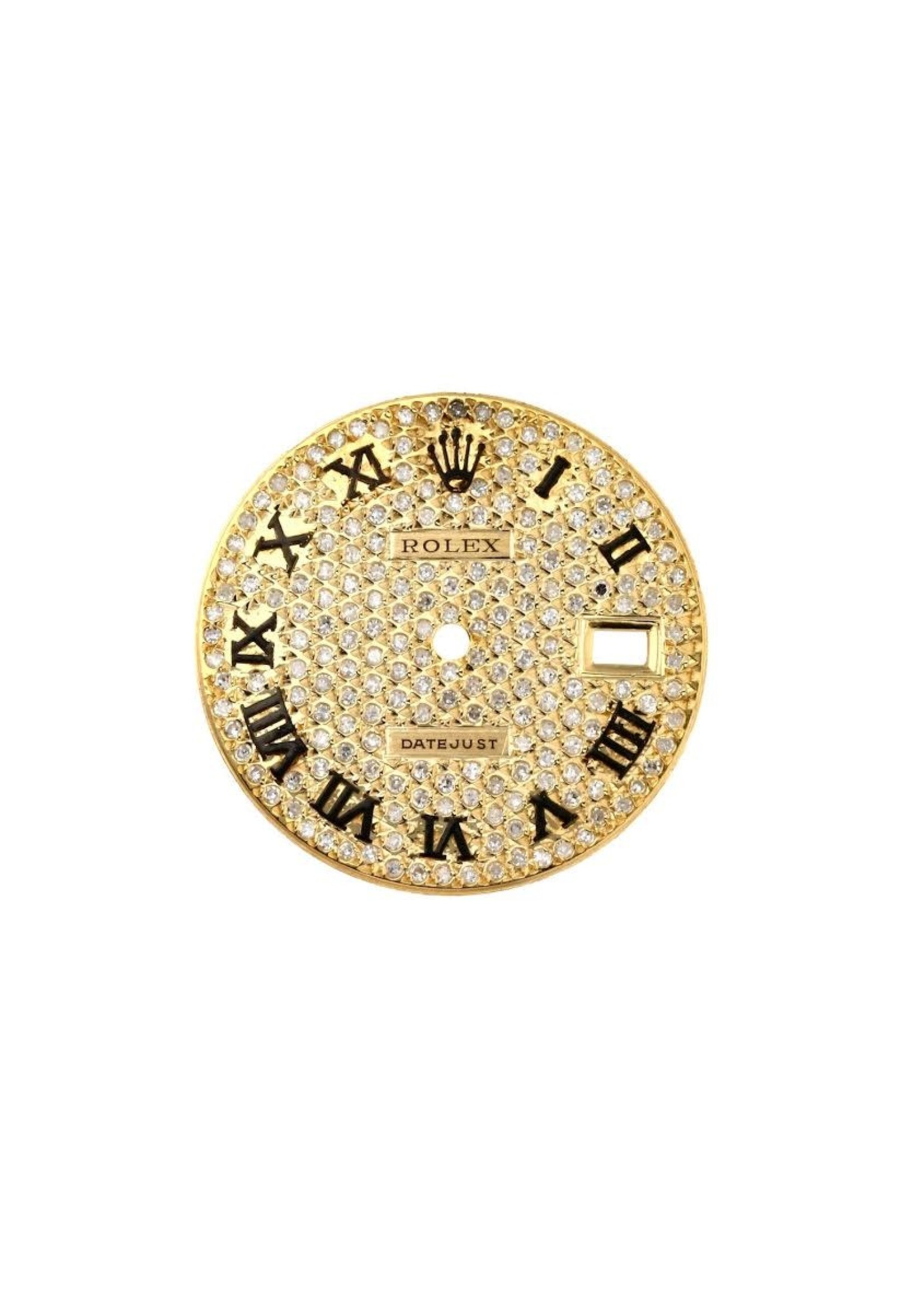 Other Brands CUSTOM ROLEX DATEJUST 36MM DIAMOND DIAL