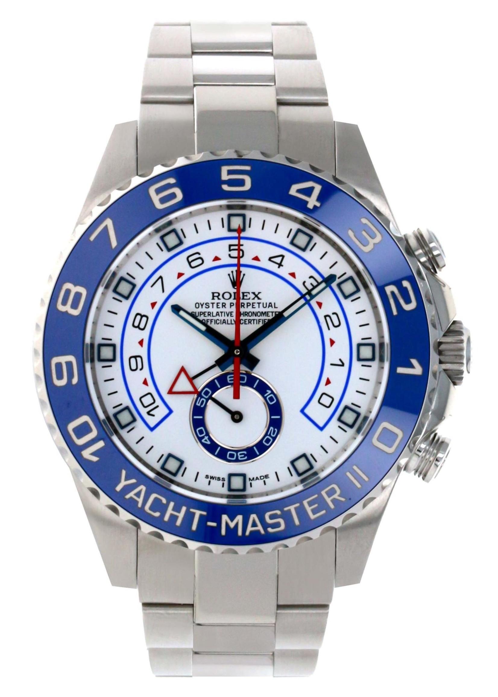 Rolex Watches Rolex Steel Yacht-Master II 44 Watch