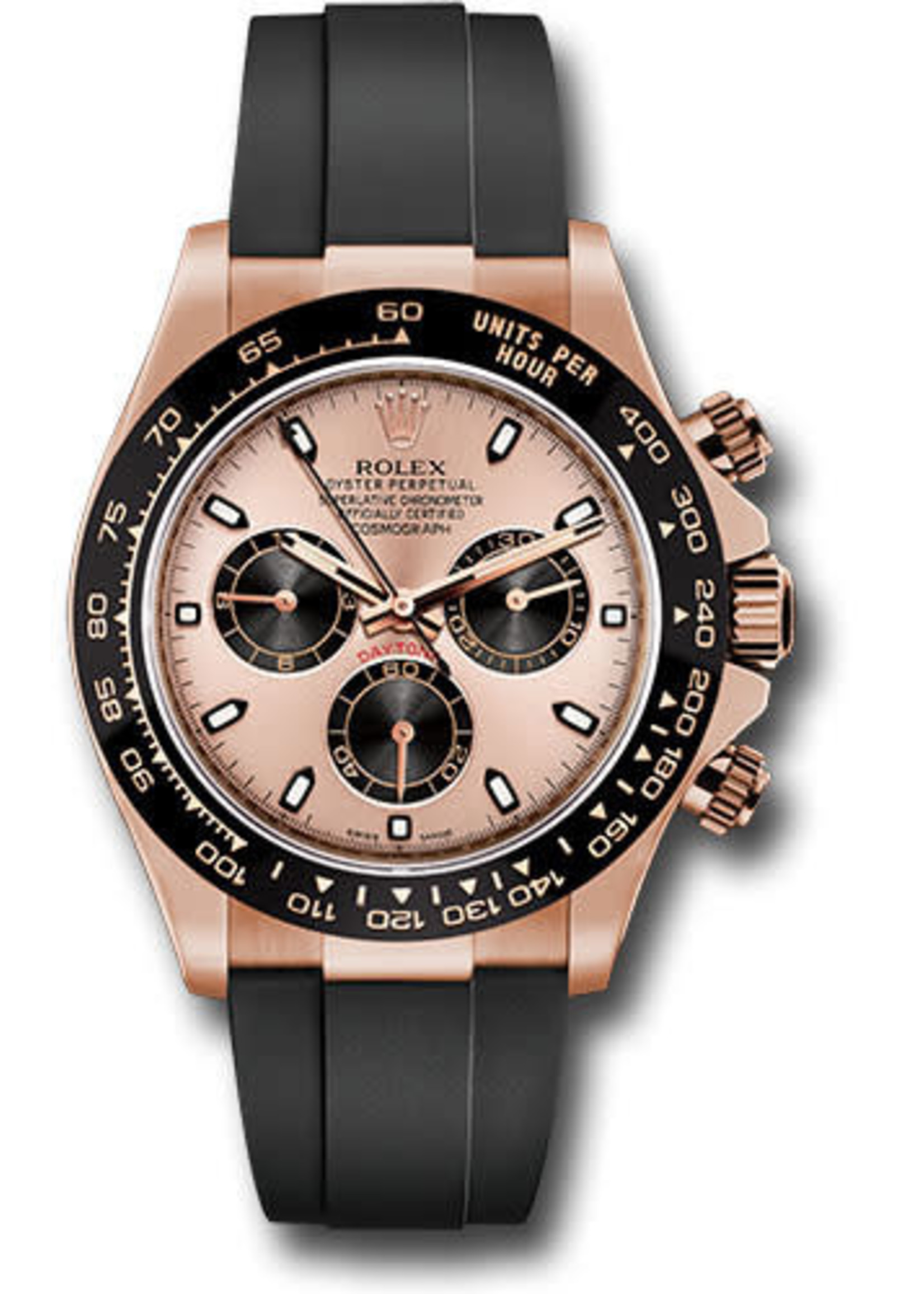 Rolex ROLEX DAYTONA EVEROSE 40MM 2021 (B+P) #116515LN