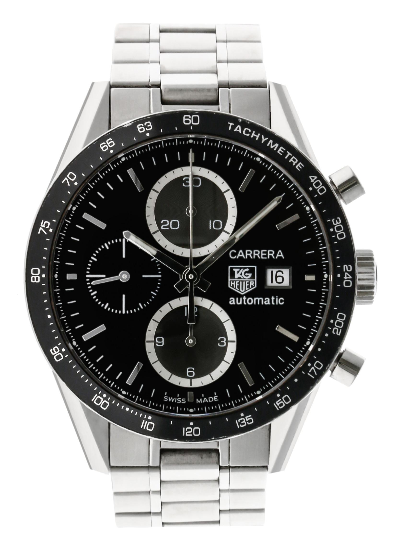 Tag Heuer Watches TAG HEUER CARRERA 41MM (2008 B+P) #CV2010.BA0794