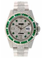 Rolex Watches ROLEX SUBMARINER 40MM (2016) AFTERMARKET DIAMONDS