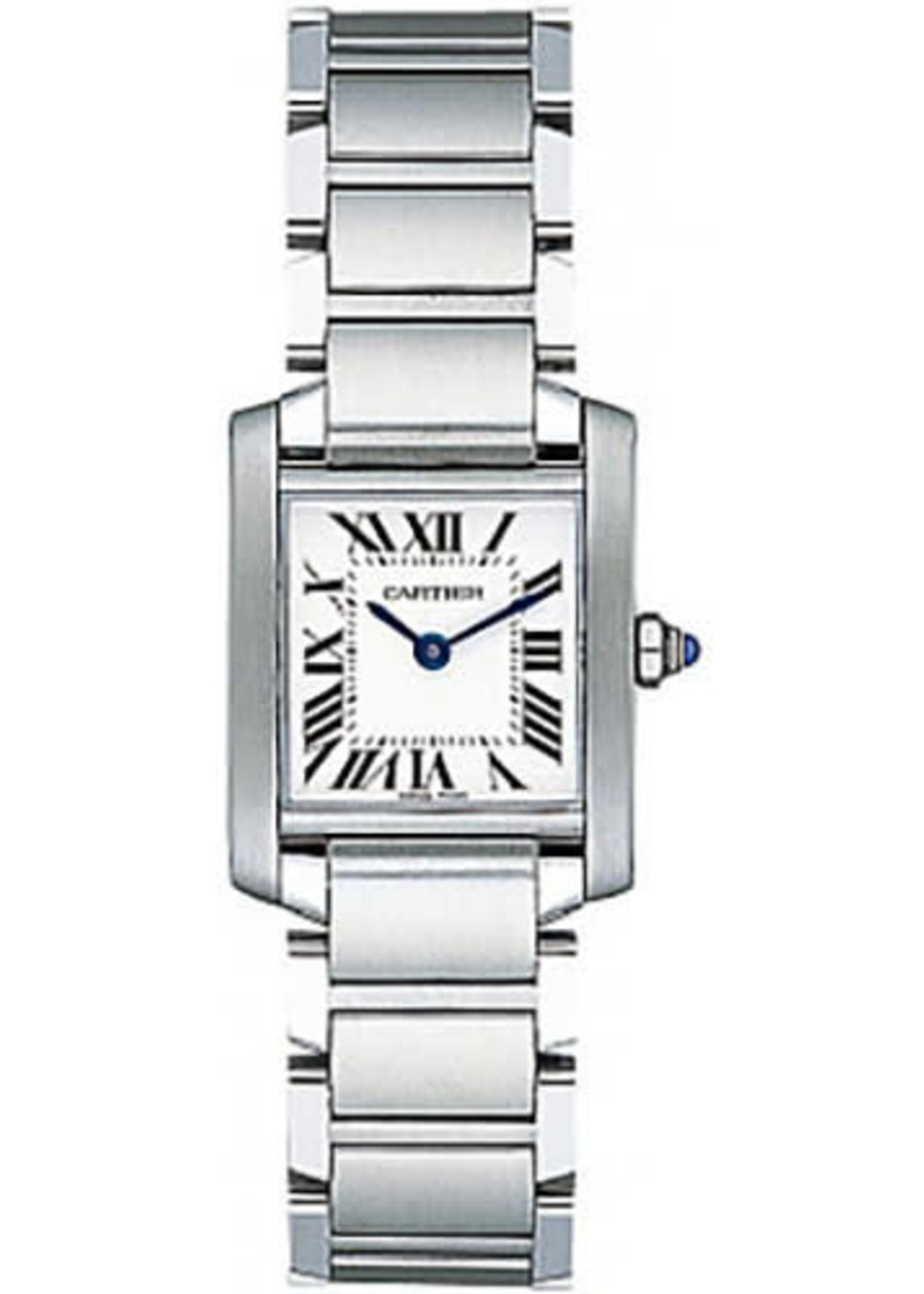 Cartier CARTIER TANK FRANCAISE 25MM SMALL SIZE #W51008Q3