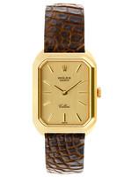 Rolex ROLEX CELLINI 18K GOLD 23MM (1976 B+P) #4104