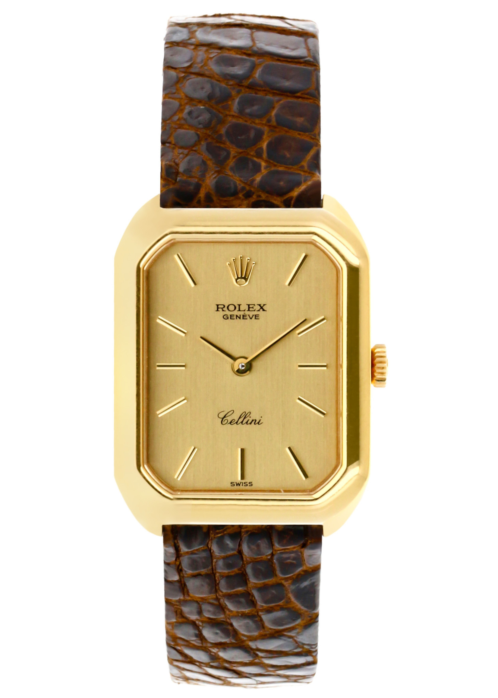 Rolex Watches ROLEX CELLINI 18K GOLD 23MM (1976 B+P) #4104