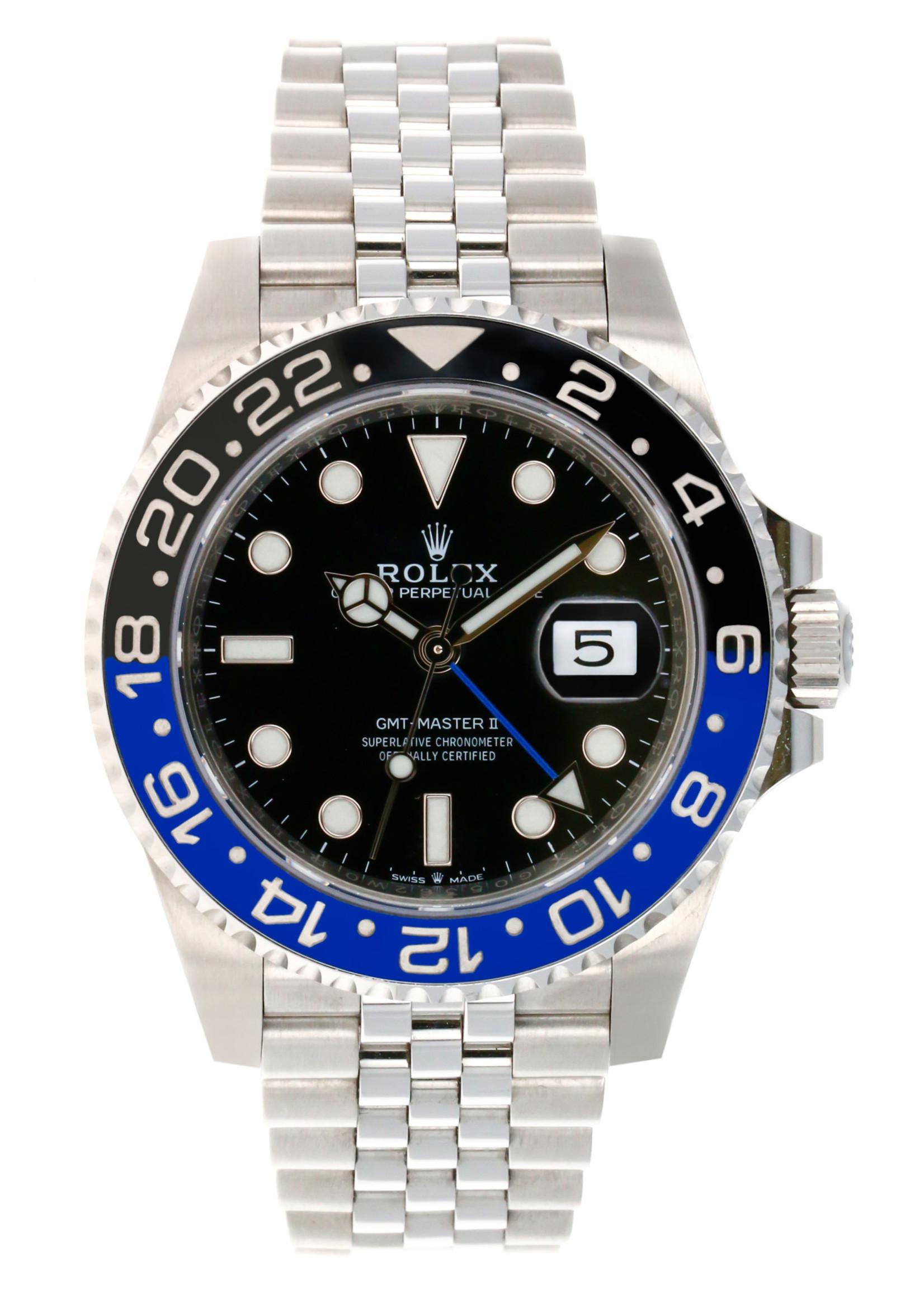 Rolex ROLEX GMT MASTER II 40MM 2020 (B+P) #126710BLNR