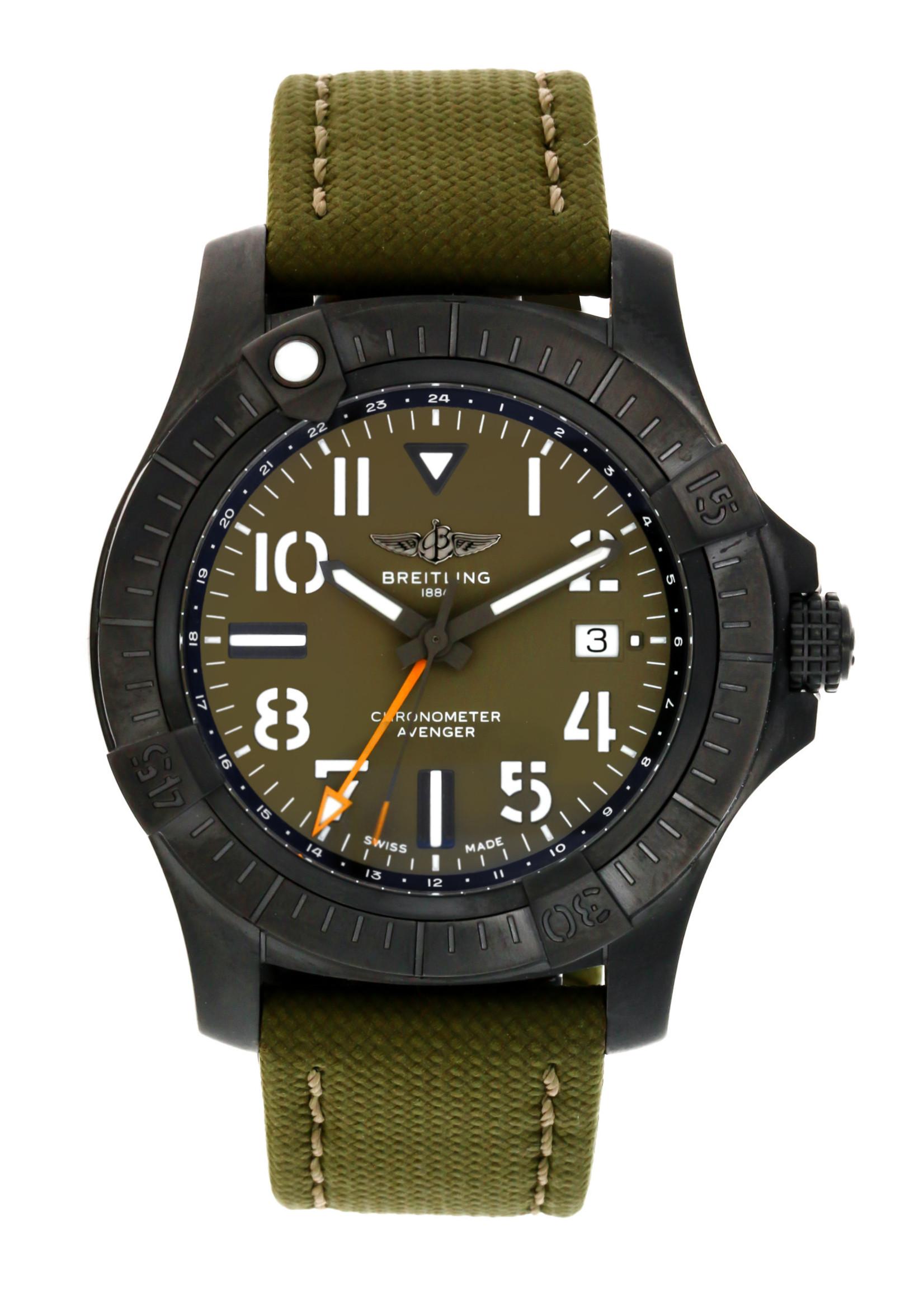 Breitling BREITLING AVENGER GMT 45MM (B+P) #V323952A1L1X2