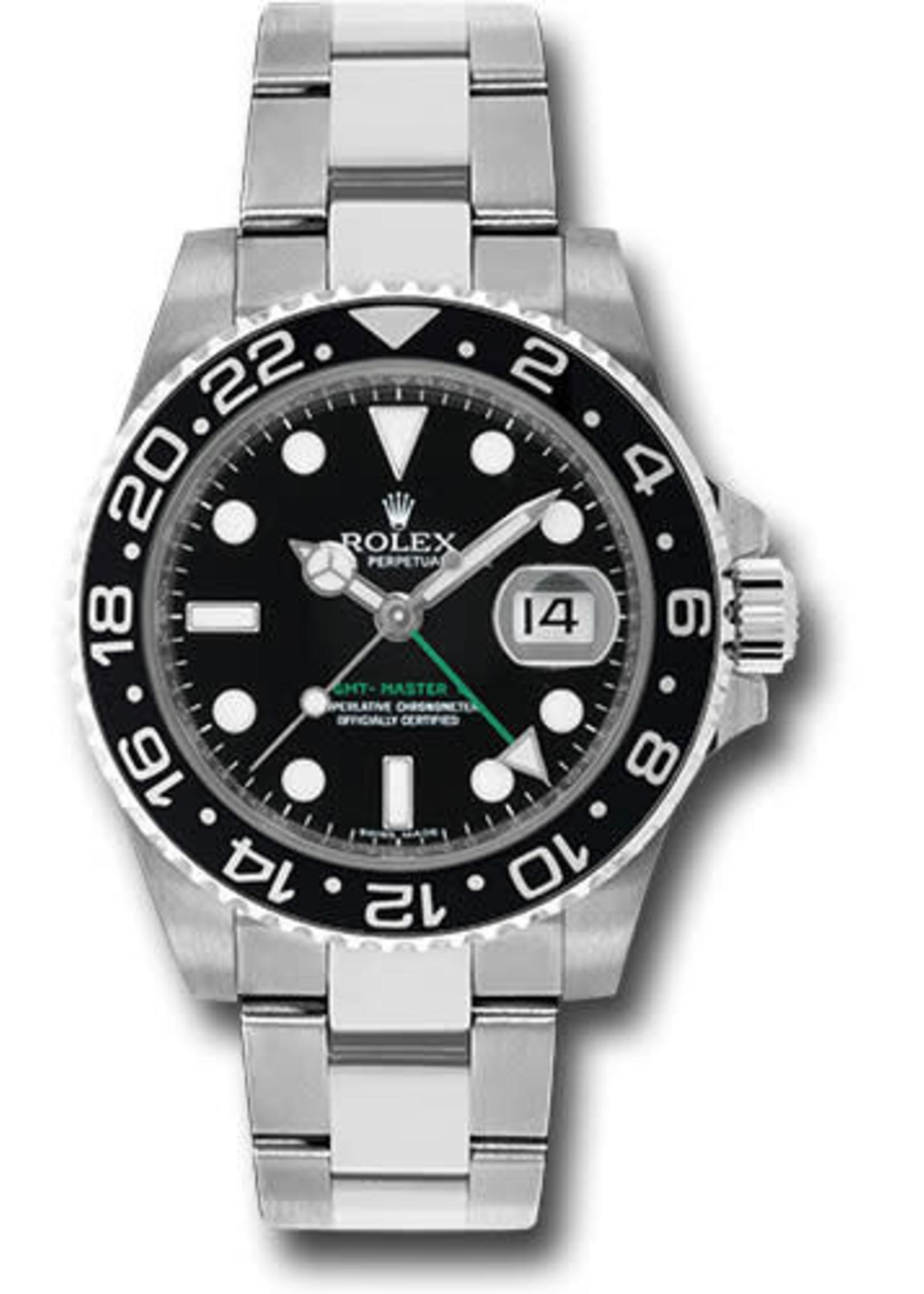 Rolex Watches ROLEX GMT-MASTER II 40MM (2009) #116710LN