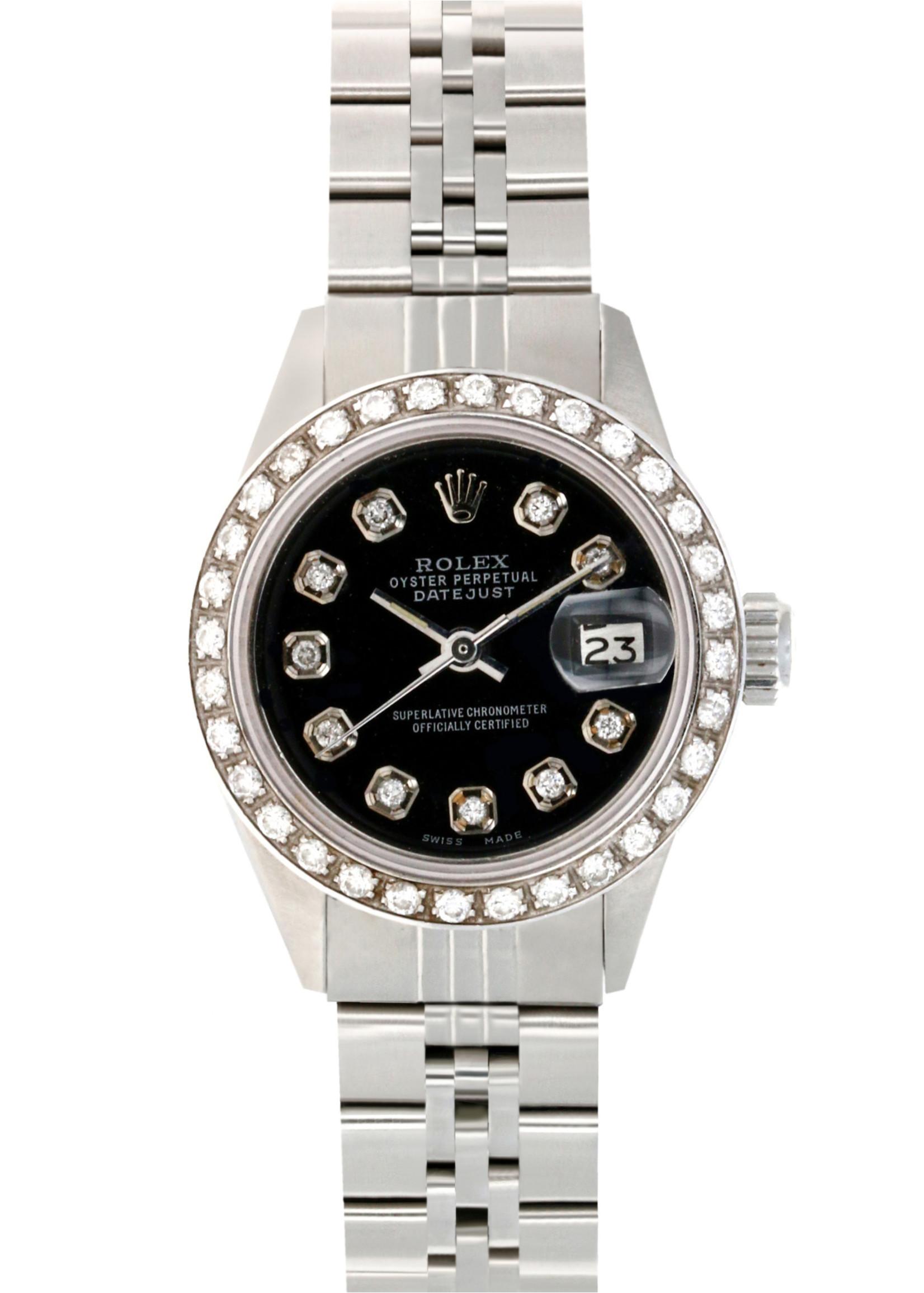 Rolex ROLEX DATEJUST 26MM JUBILEE - CUSTOM DIAMOND DIAL / BEZEL