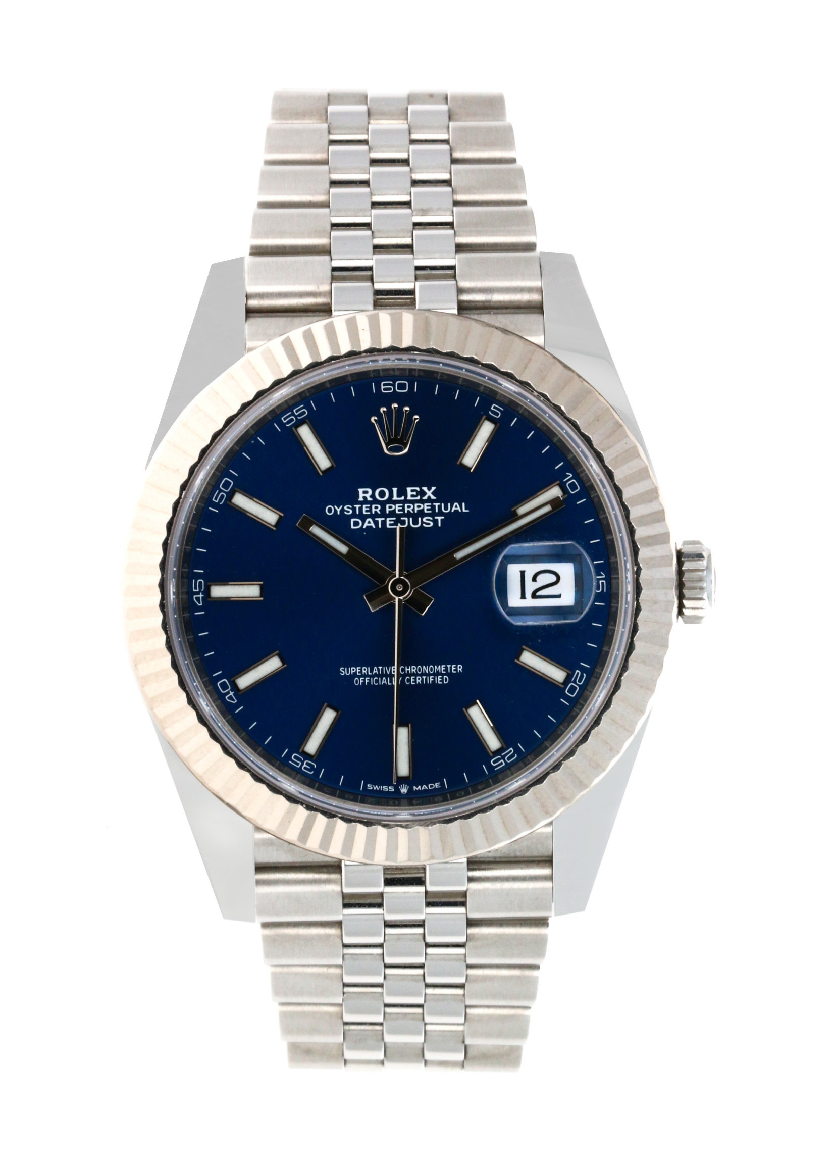 Rolex ROLEX DATEJUST 41MM (2020 B+P) #126300