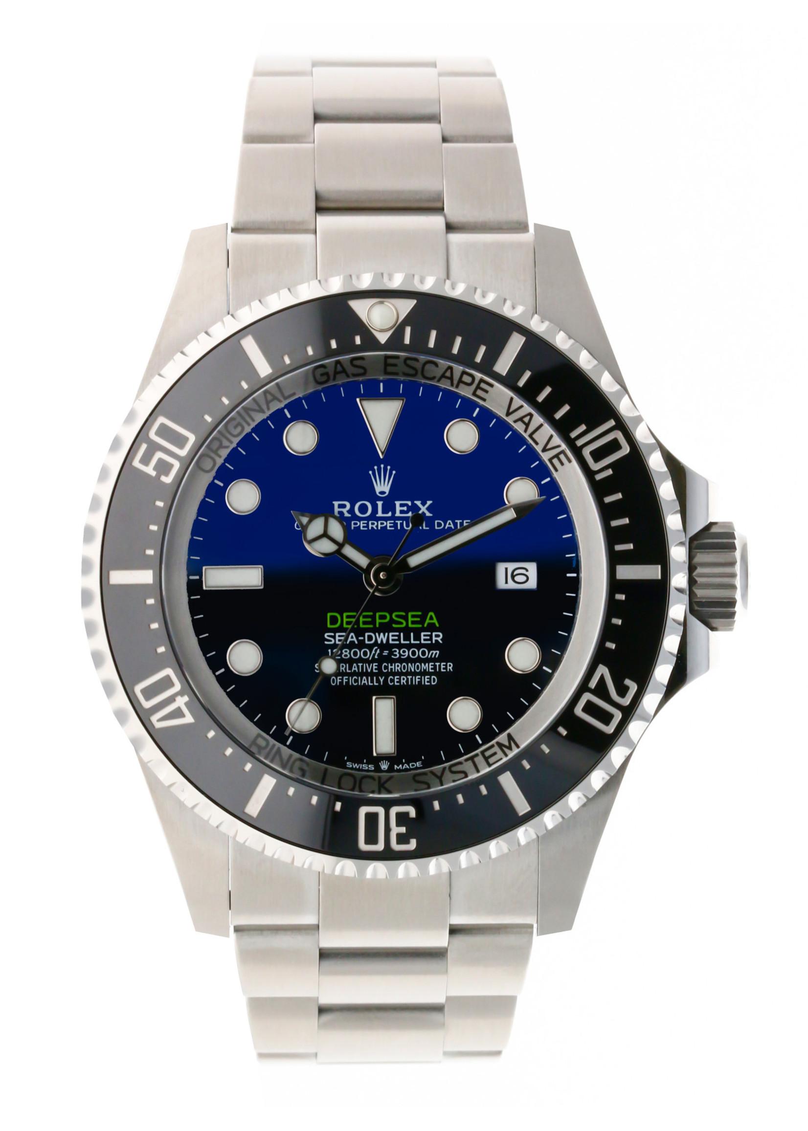 Rolex ROLEX DEEPSEA SEA-DWELLER 44MM  (2020 B+P) #126660