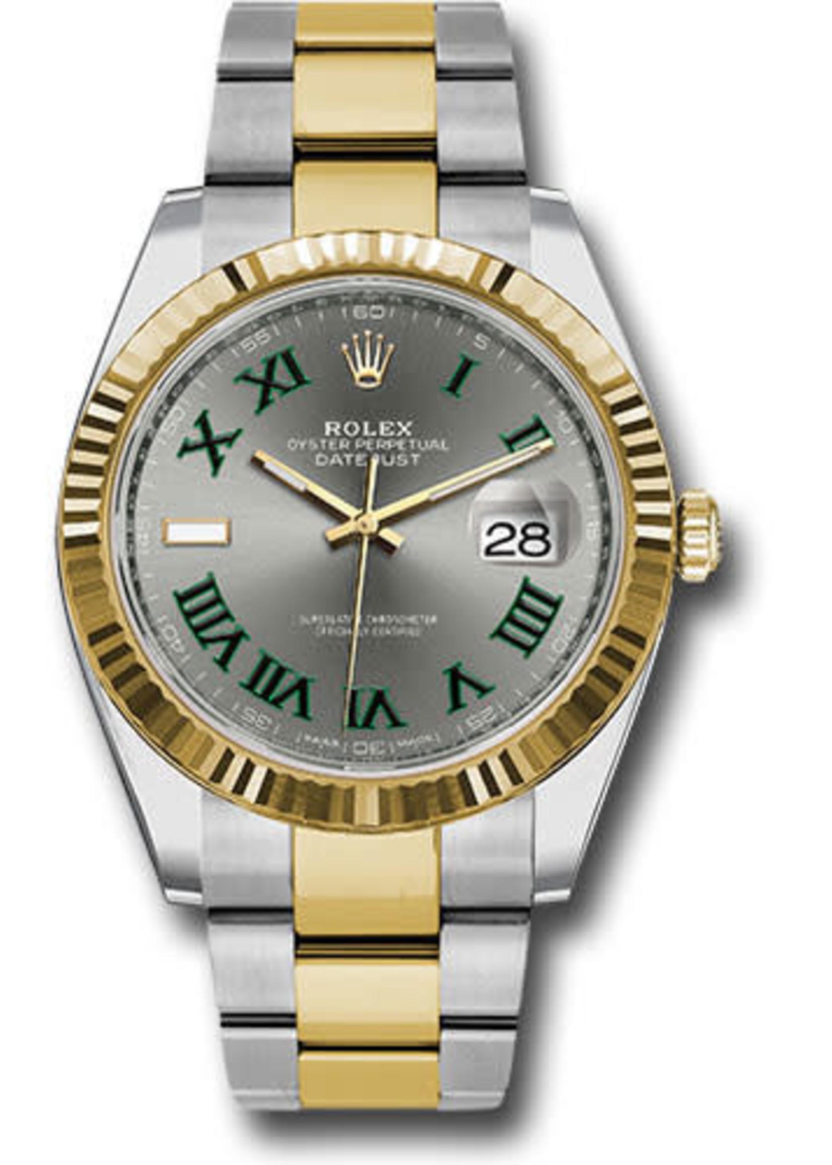 Rolex ROLEX DATEJUST 41MM STEEL & YELLOW GOLD #126333