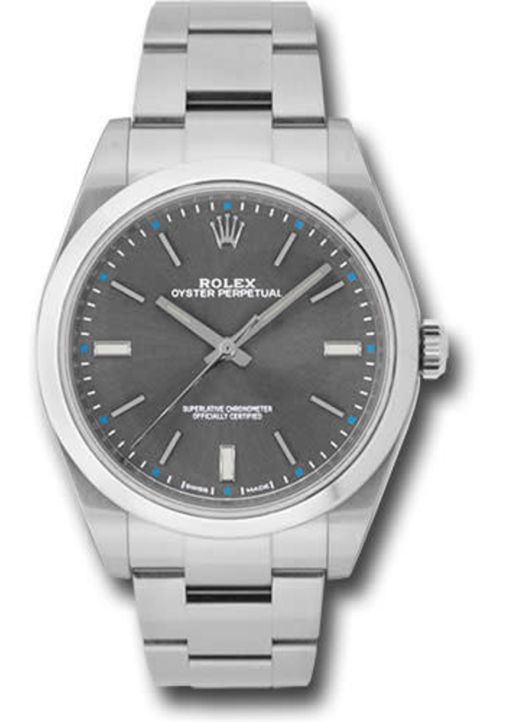 Rolex Watches ROLEX OYSTER PERPETUAL 39MM (2016 B+P) #114300