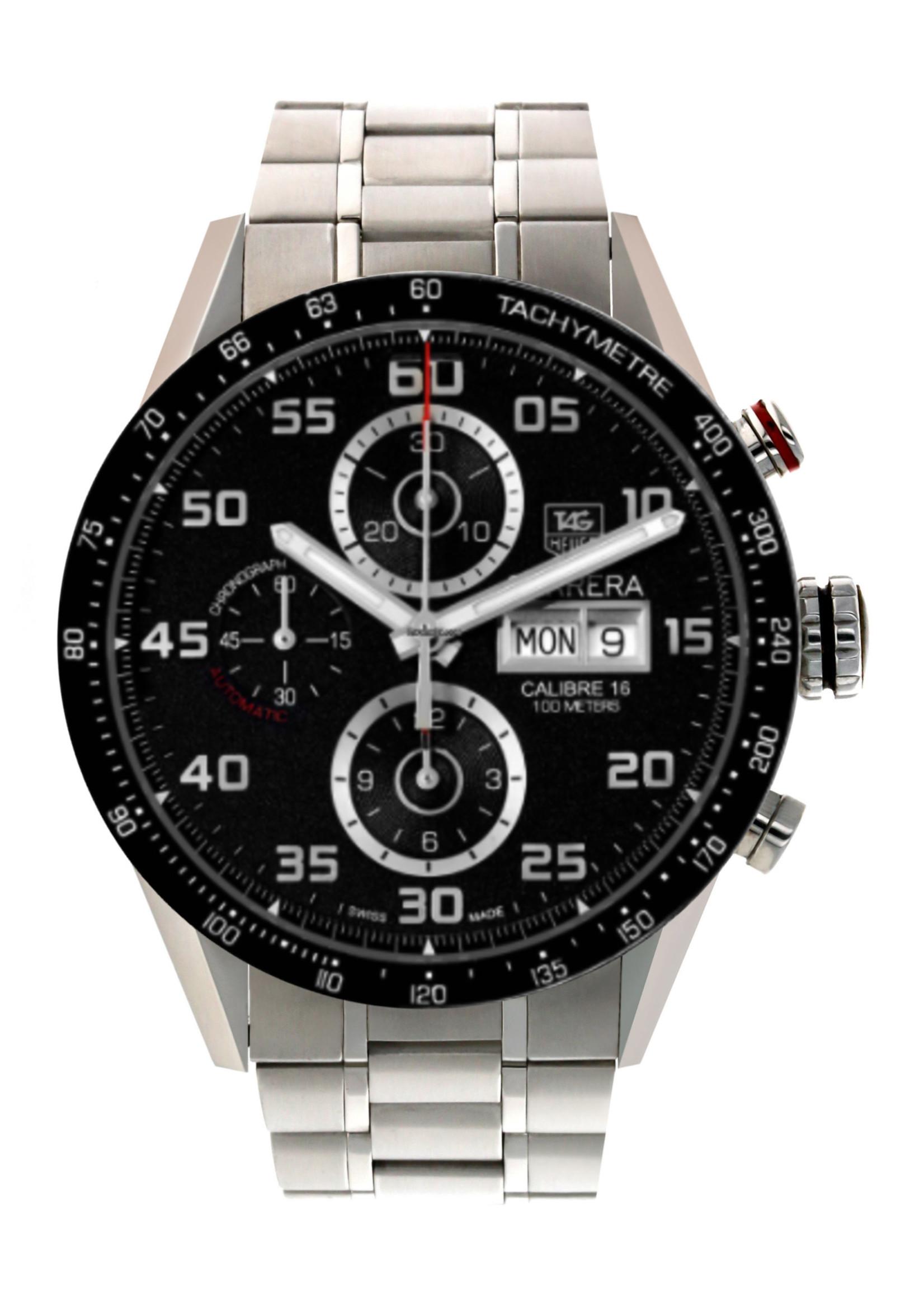 Tag Heuer Watches TAG HEUER CARRERA 43MM (2013 B+P) #CV2A1R.BA0799