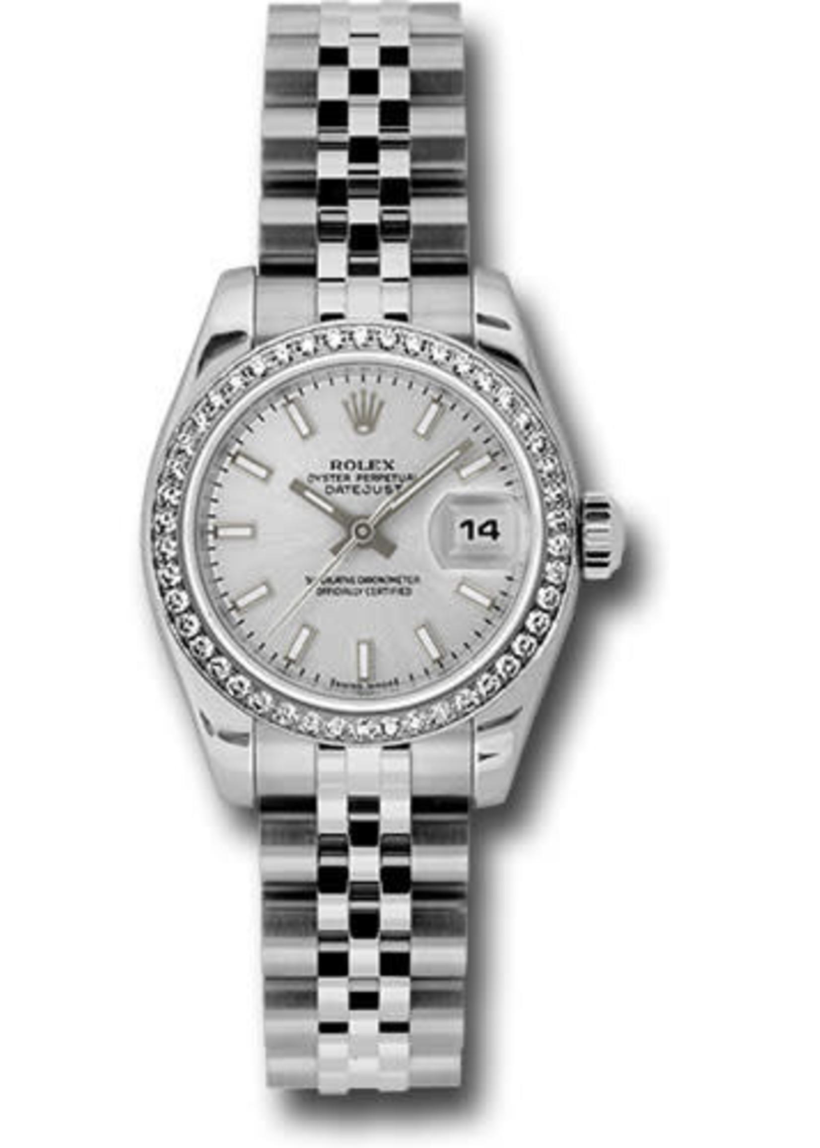 Rolex ROLEX DATEJUST LADY 26MM (2010 B+P) #179384