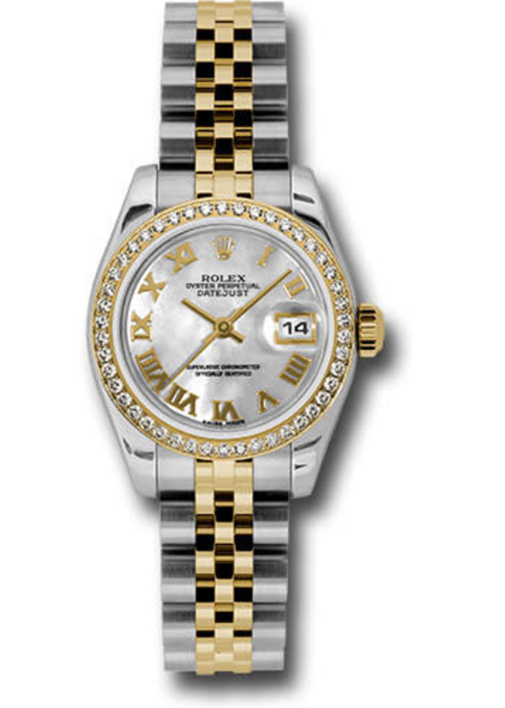 Rolex Watches ROLEX DATEJUST 26MM #179383 (2010 B+P) BRAND NEW NEVER WORN